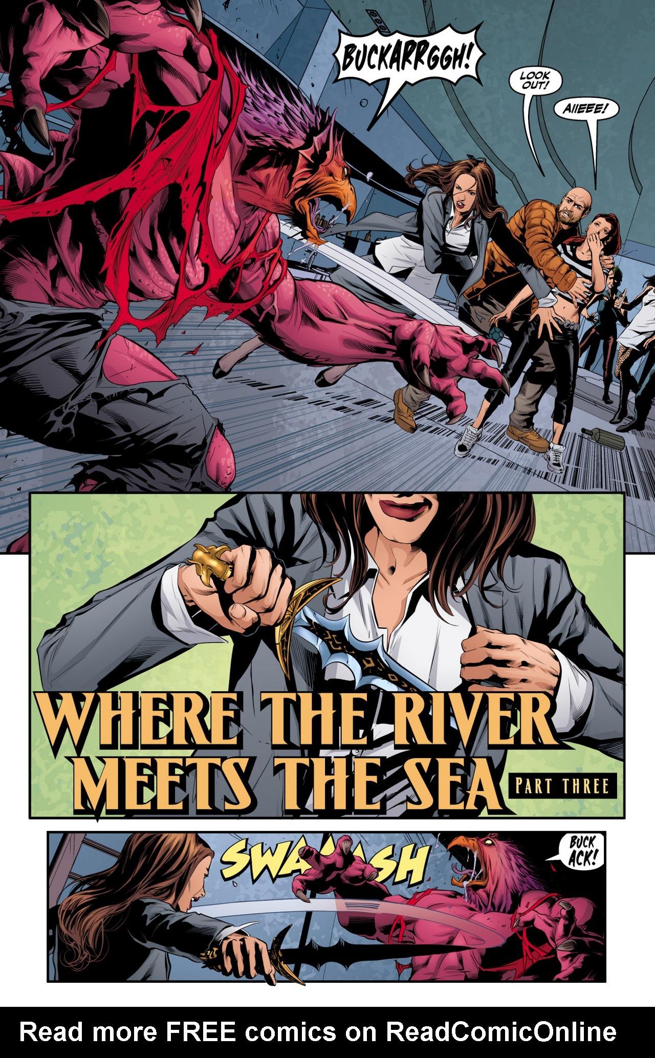 Read online Angel & Faith Season 10 comic -  Issue #3 - 3
