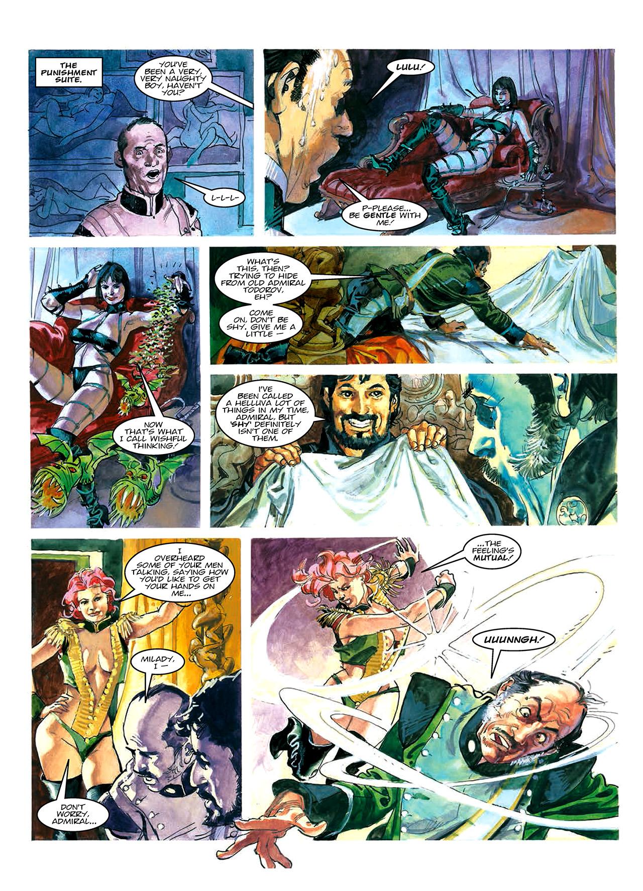 Read online Nikolai Dante comic -  Issue # TPB 10 - 16