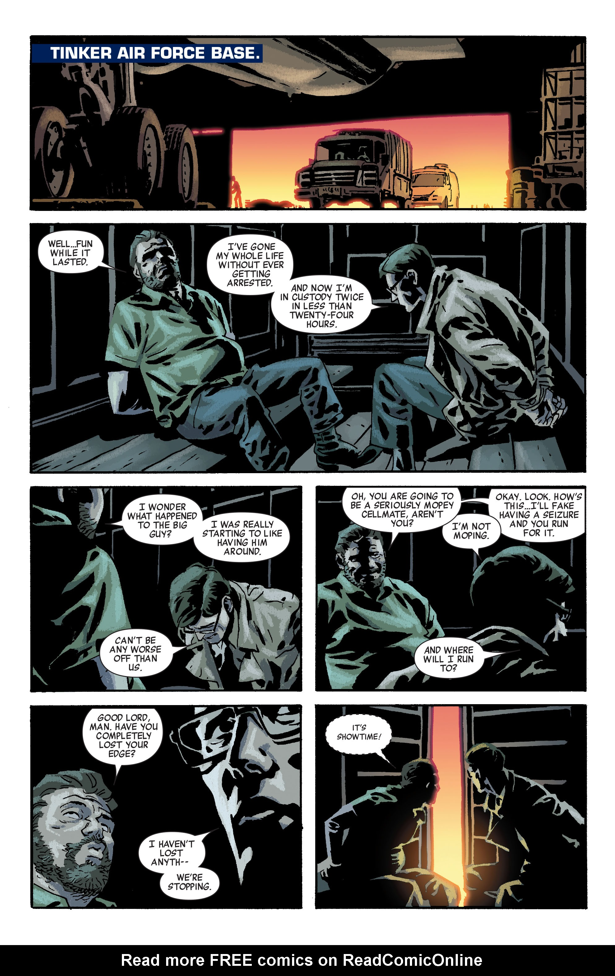 Read online Siege: Embedded comic -  Issue #2 - 22