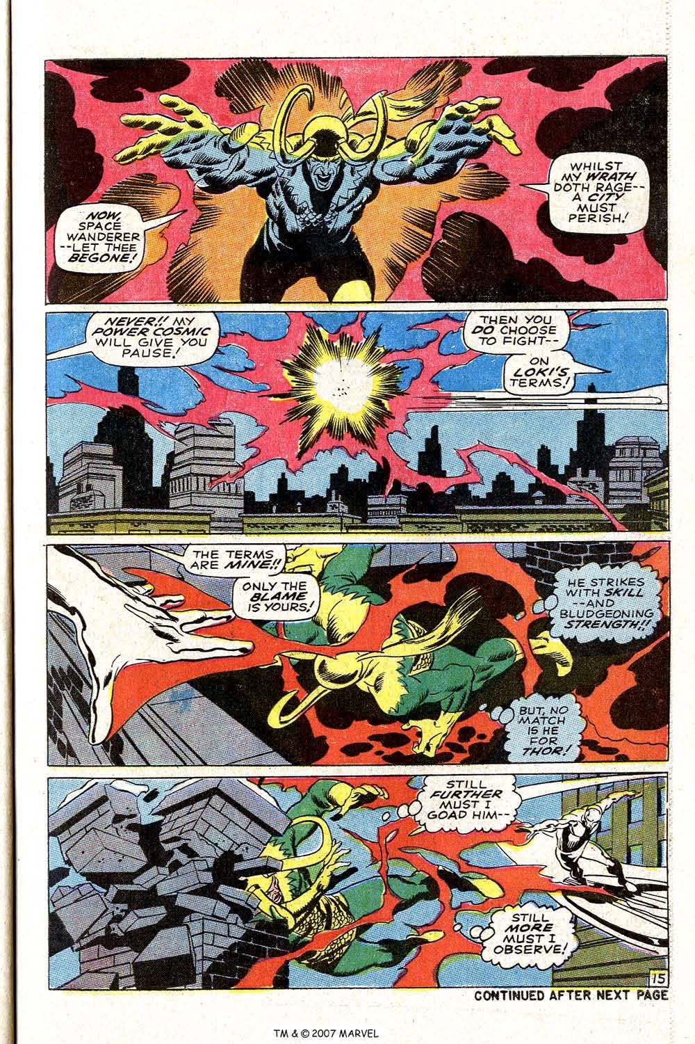 Read online Silver Surfer (1968) comic -  Issue #4 - 19