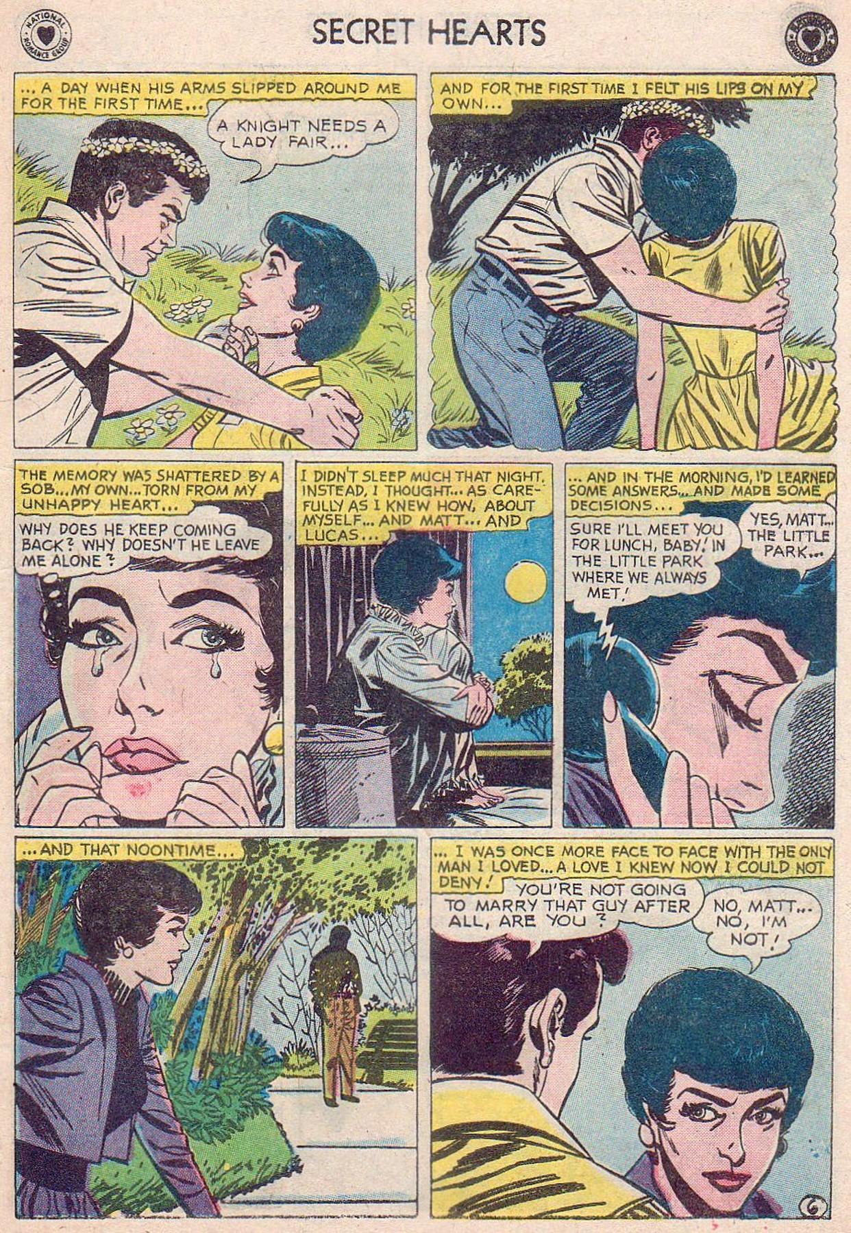 Read online Secret Hearts comic -  Issue #61 - 15