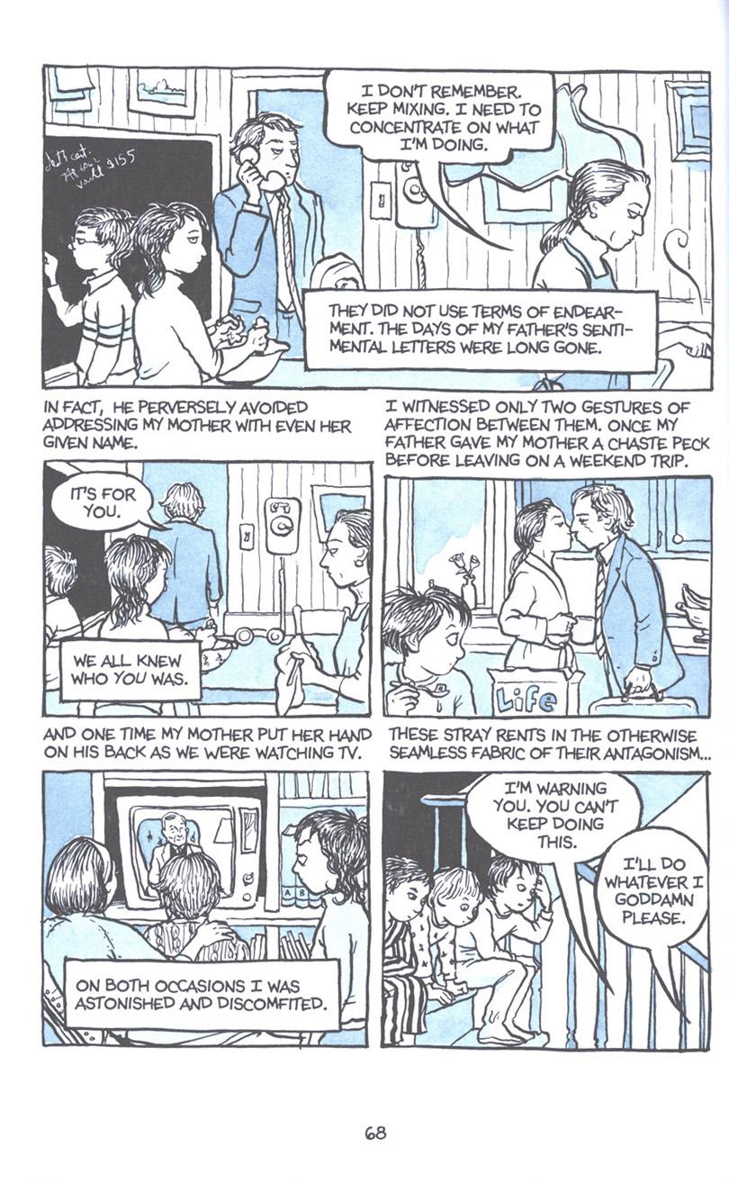 Read online Fun Home: A Family Tragicomic comic -  Issue # TPB - 75