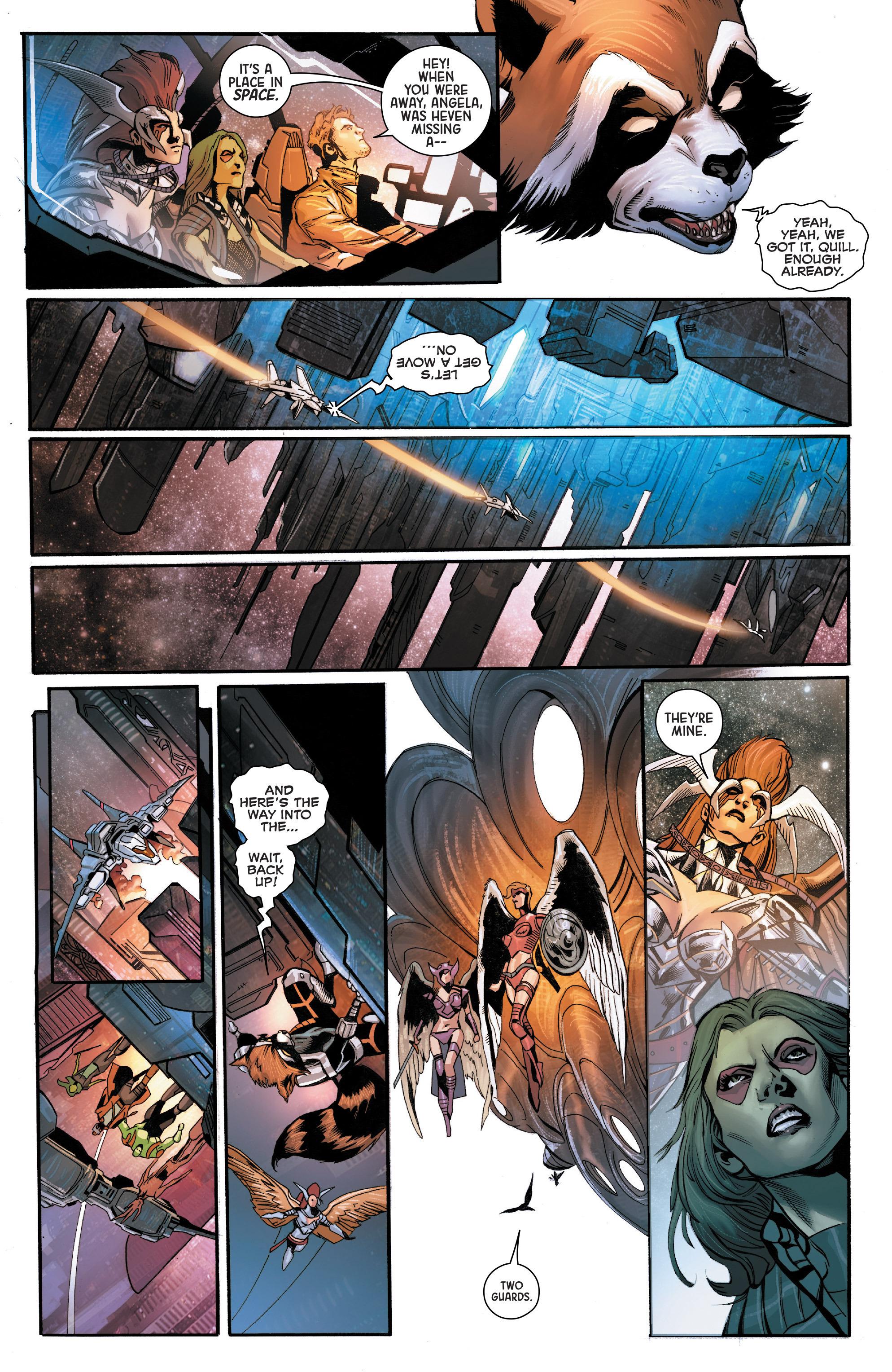 Read online Angela: Asgard's Assassin comic -  Issue #5 - 8