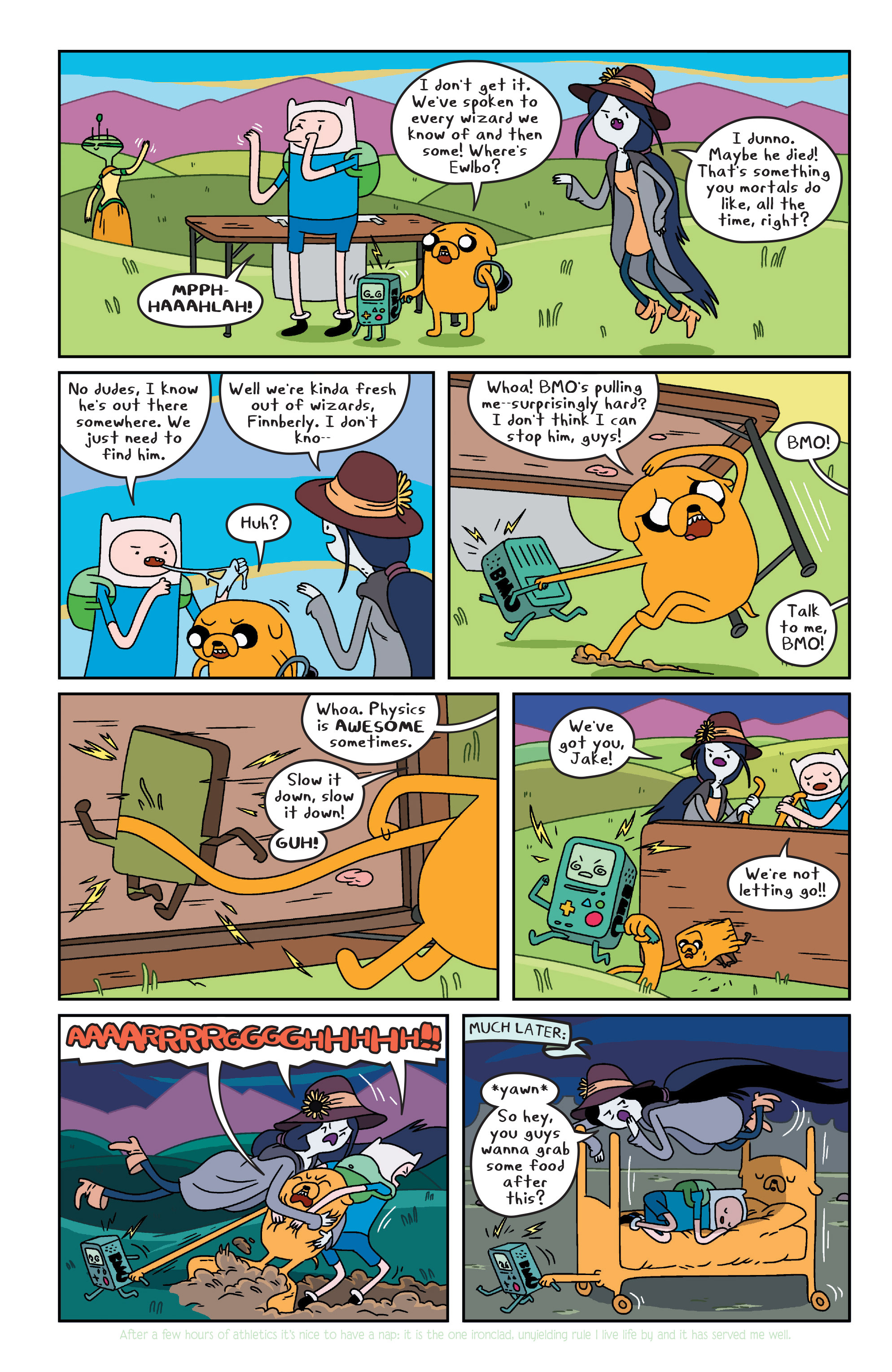 Read online Adventure Time comic -  Issue #Adventure Time _TPB 3 - 46