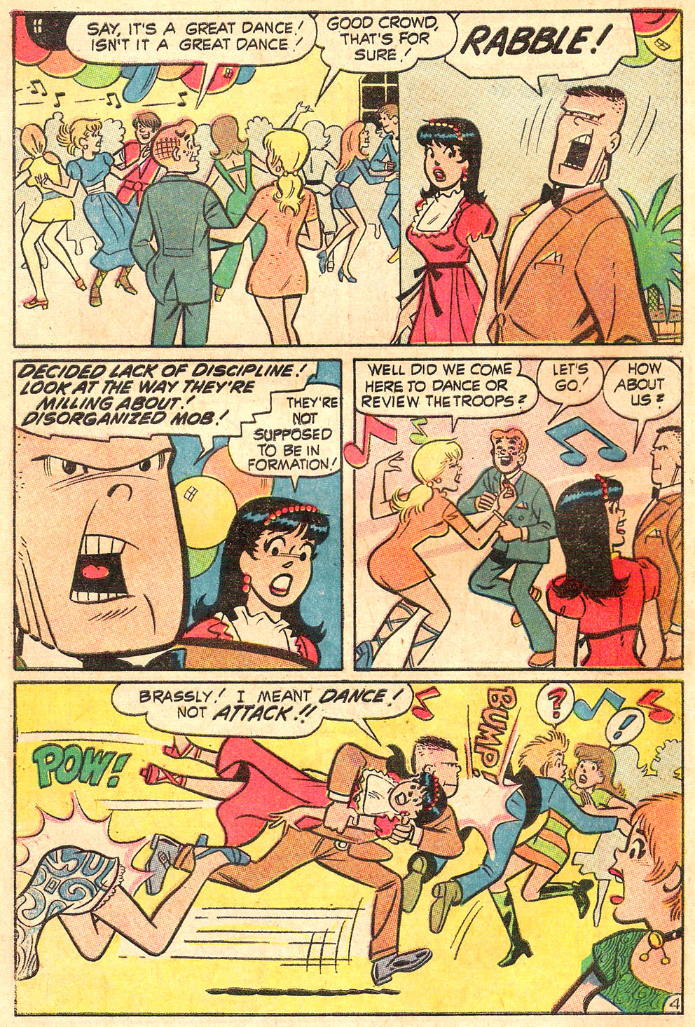 Read online Archie's Girls Betty and Veronica comic -  Issue #188 - 6