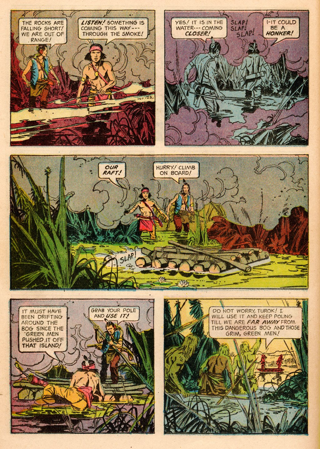 Read online Turok, Son of Stone comic -  Issue #33 - 16