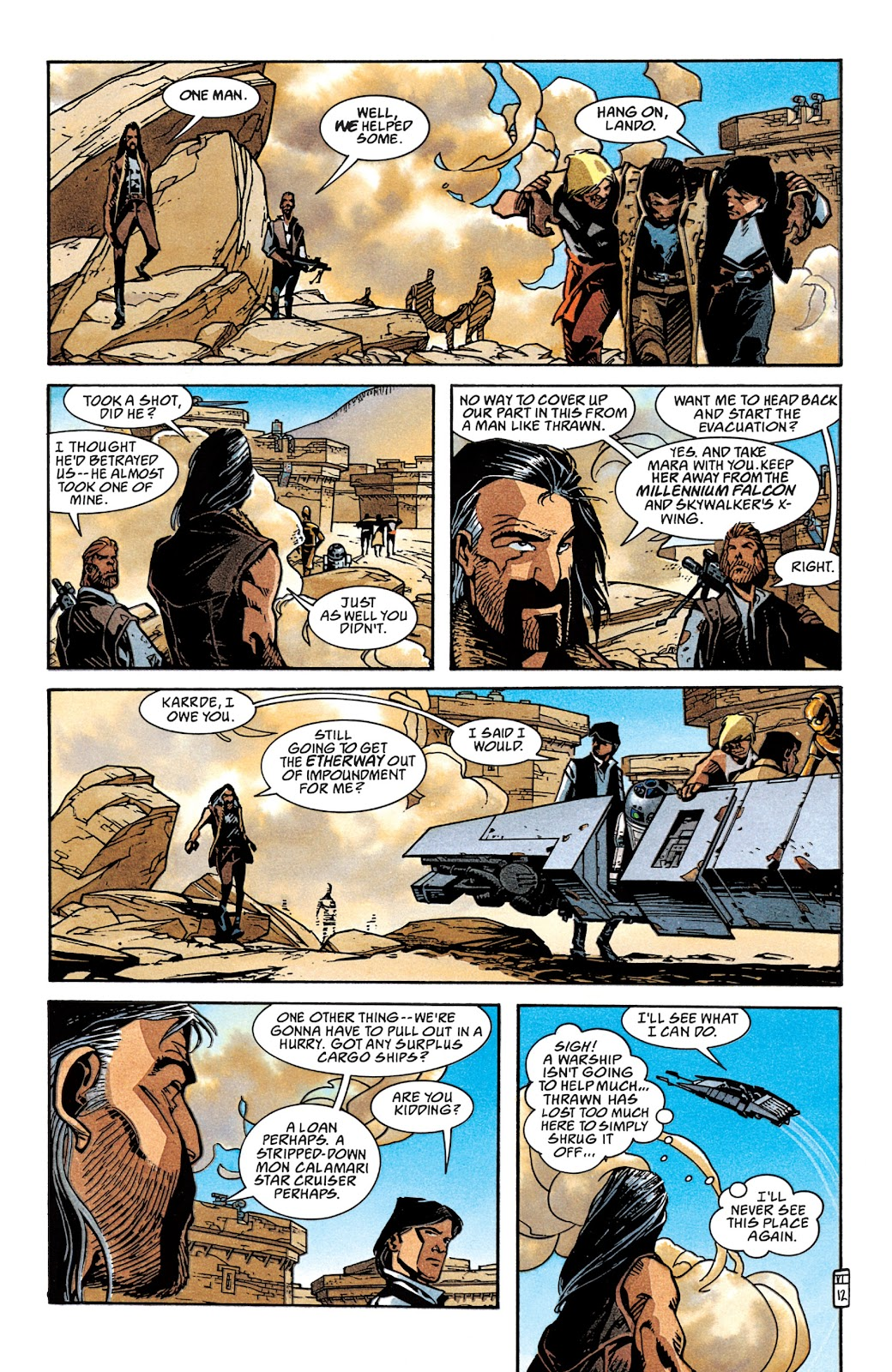 Read online Star Wars Legends: The New Republic - Epic Collection comic -  Issue # TPB 4 (Part 2) - 36