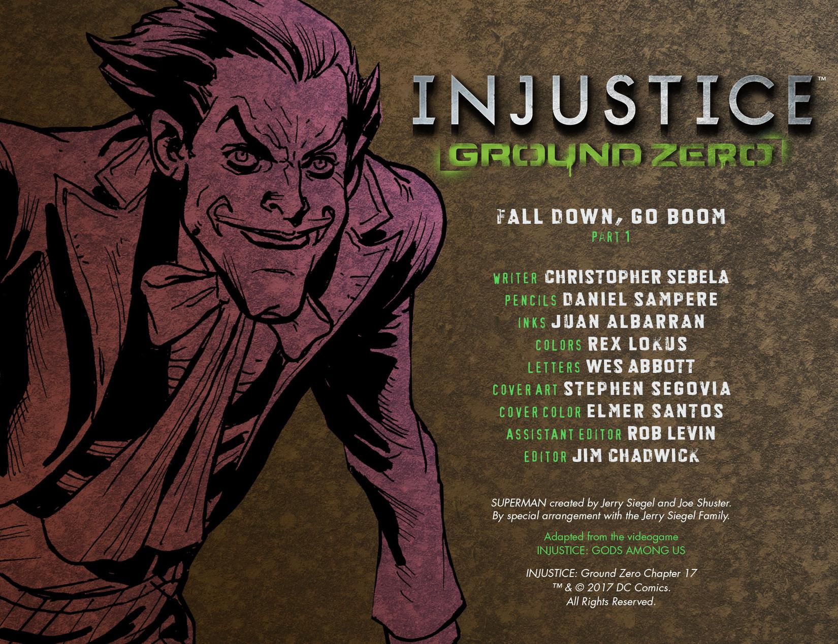 Read online Injustice: Ground Zero comic -  Issue #17 - 2