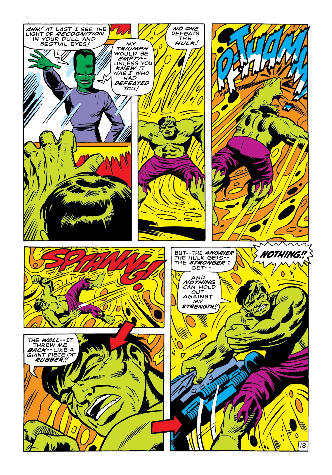 Read online Marvel Masterworks: The Incredible Hulk comic -  Issue # TPB 5 (Part 2) - 8