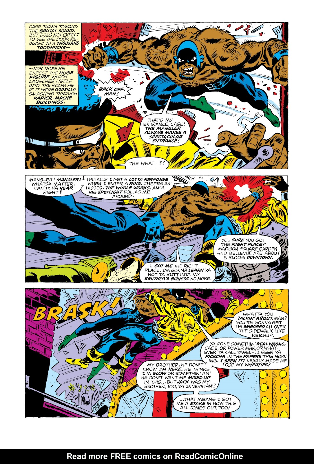 Read online Marvel Masterworks: Luke Cage, Power Man comic -  Issue # TPB 3 (Part 1) - 47