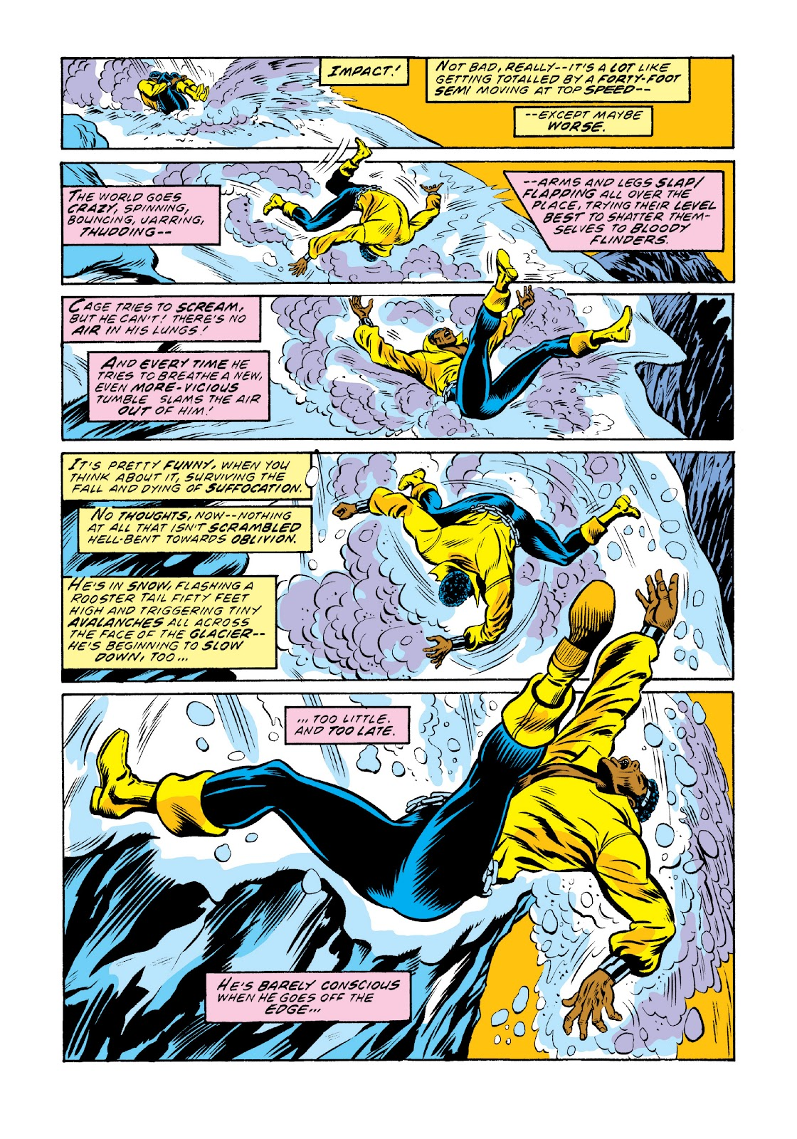 Read online Marvel Masterworks: Luke Cage, Power Man comic -  Issue # TPB 3 (Part 2) - 2
