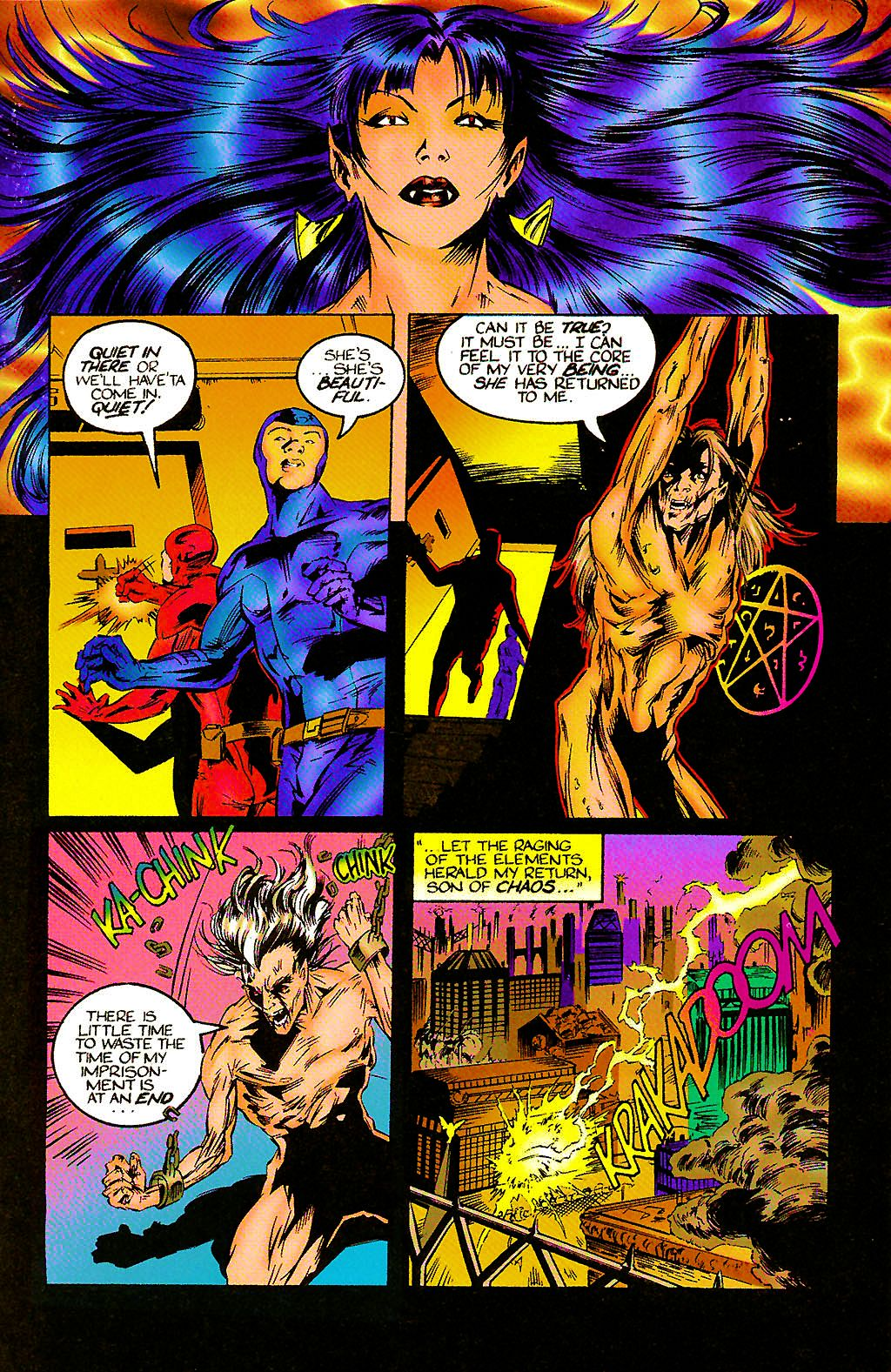 Read online Chains of Chaos comic -  Issue #2 - 30