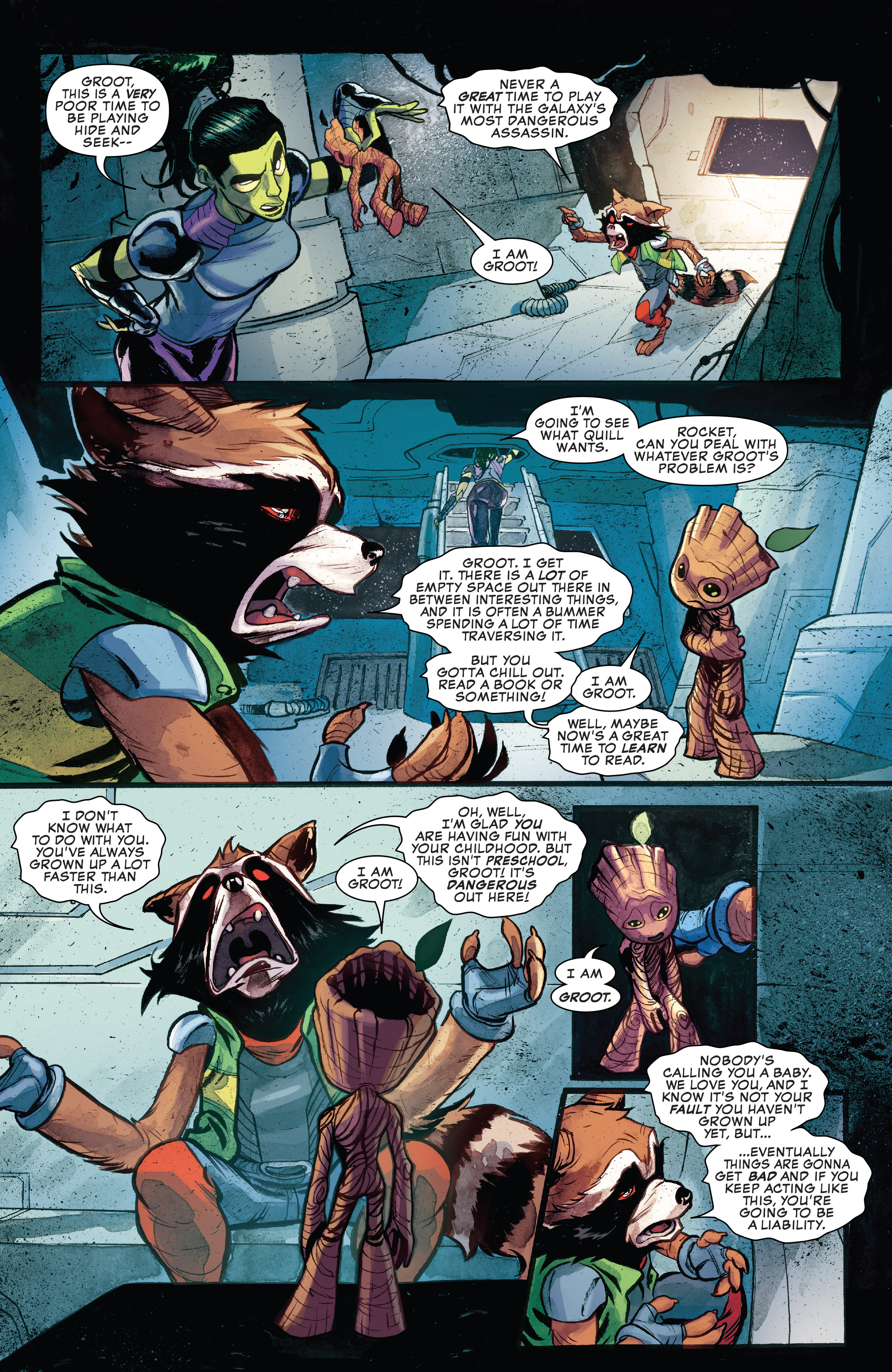 Read online I Am Groot comic -  Issue #1 - 6