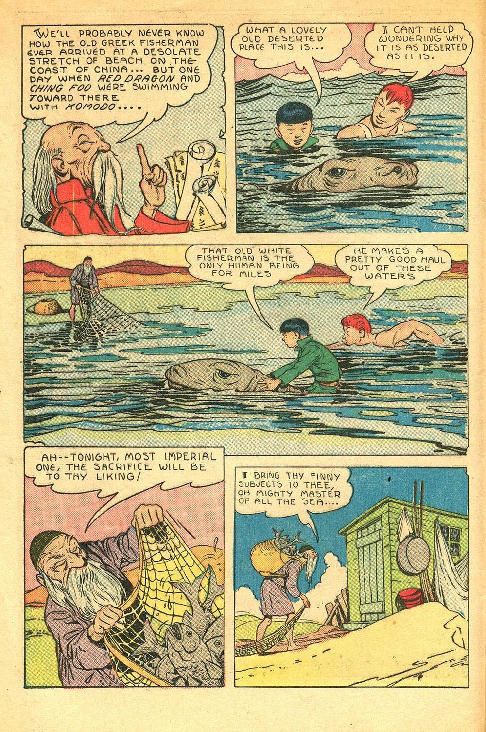 Read online Super-Magician Comics comic -  Issue #56 - 4