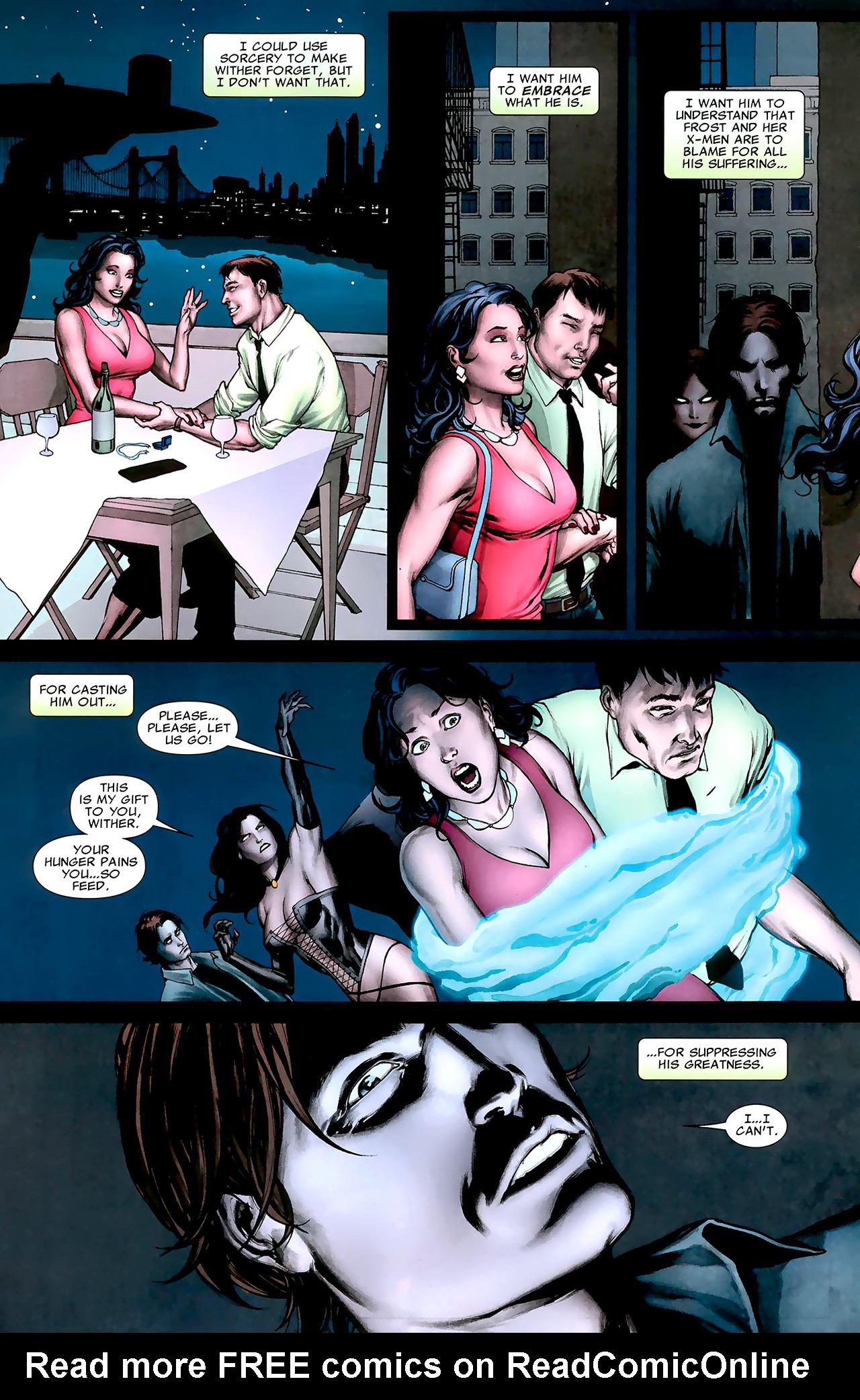 Read online X Necrosha: The Gathering comic -  Issue # Full - 7