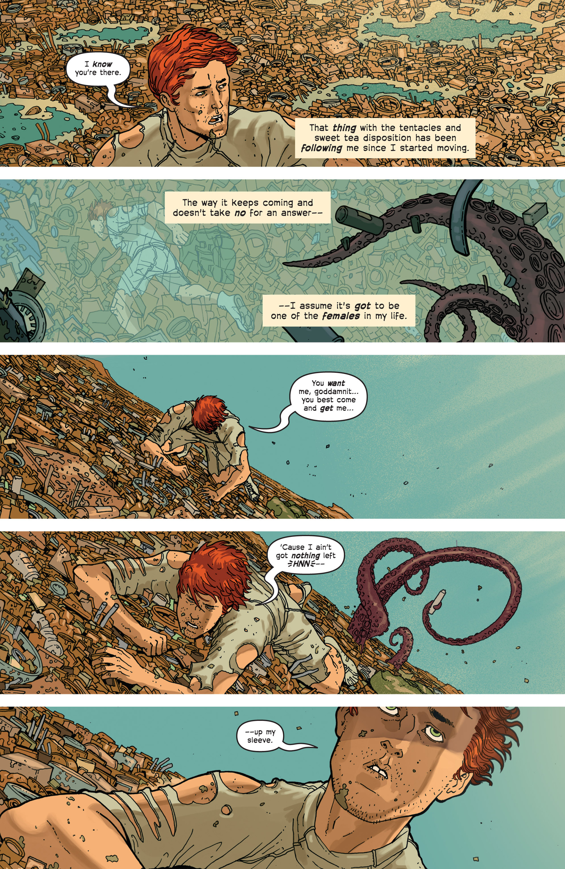 Read online Great Pacific comic -  Issue #3 - 12