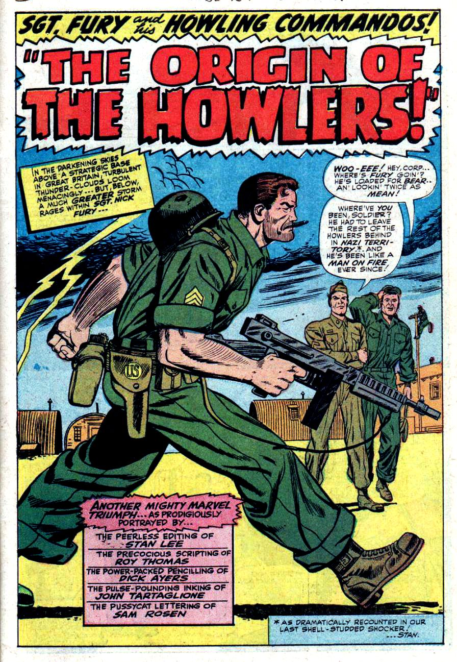 Read online Sgt. Fury comic -  Issue #34 - 3