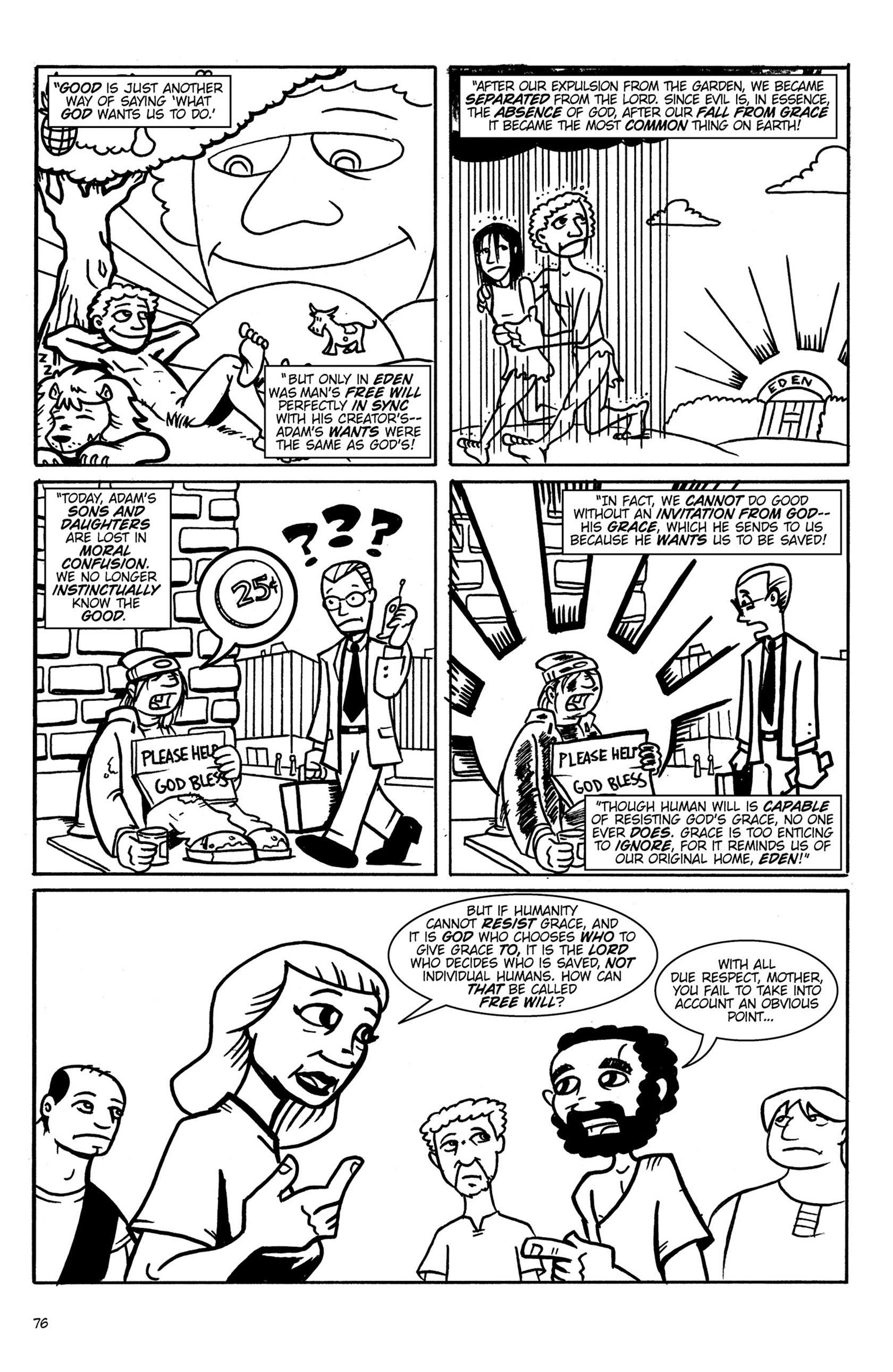 Read online Action Philosophers! comic -  Issue #Action Philosophers! TPB (Part 1) - 76