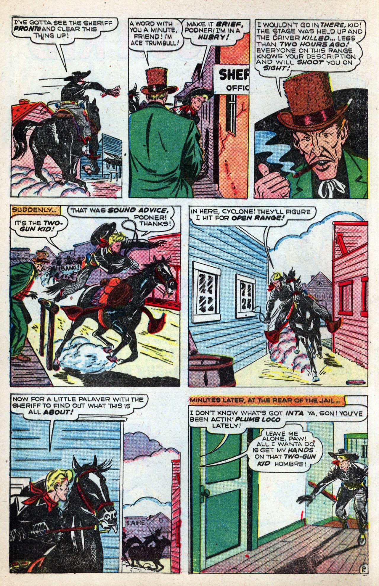 Read online Two-Gun Kid comic -  Issue #4 - 4