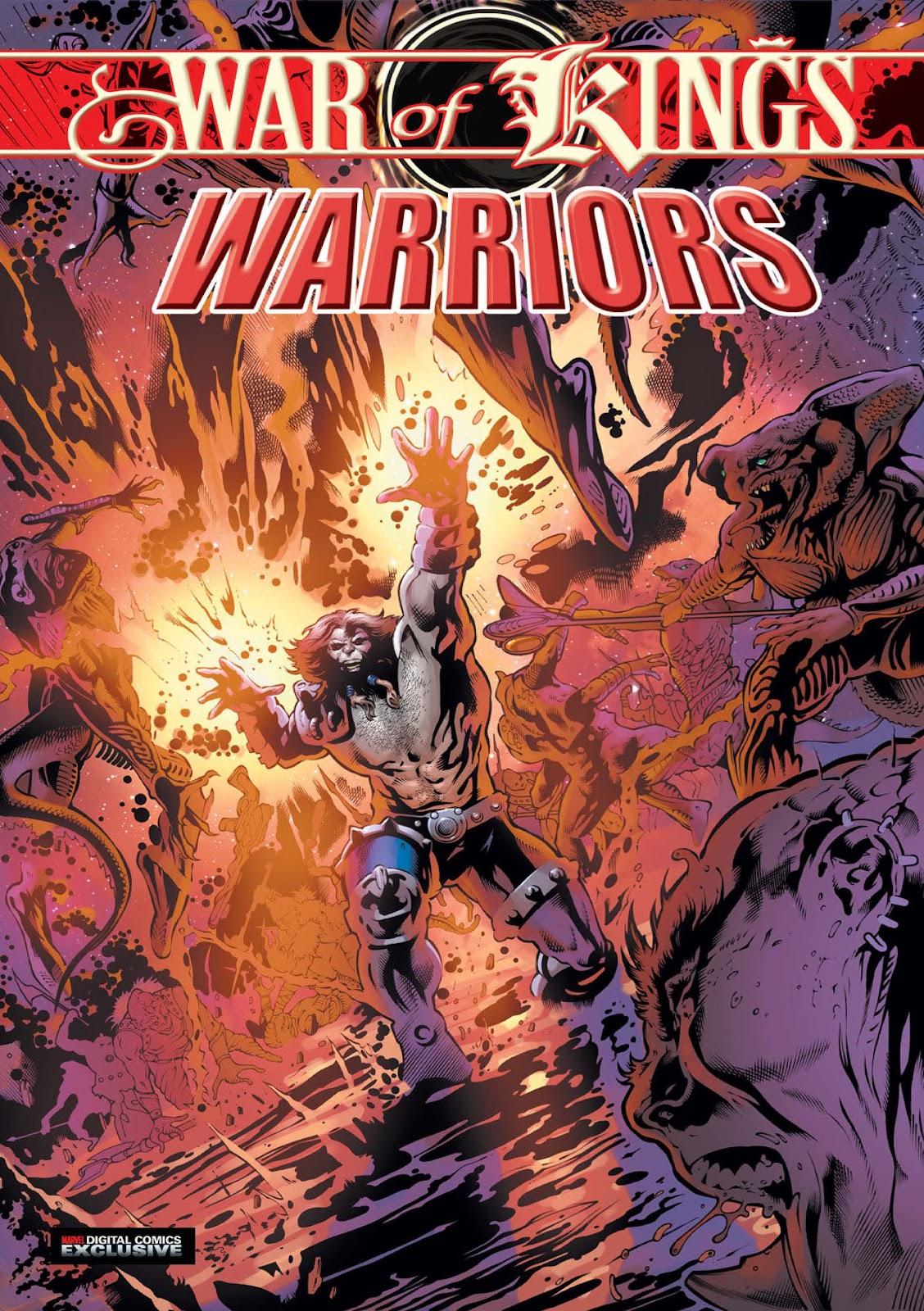 War of Kings: Warriors - Blastaar Issue #2 #2 - English 1