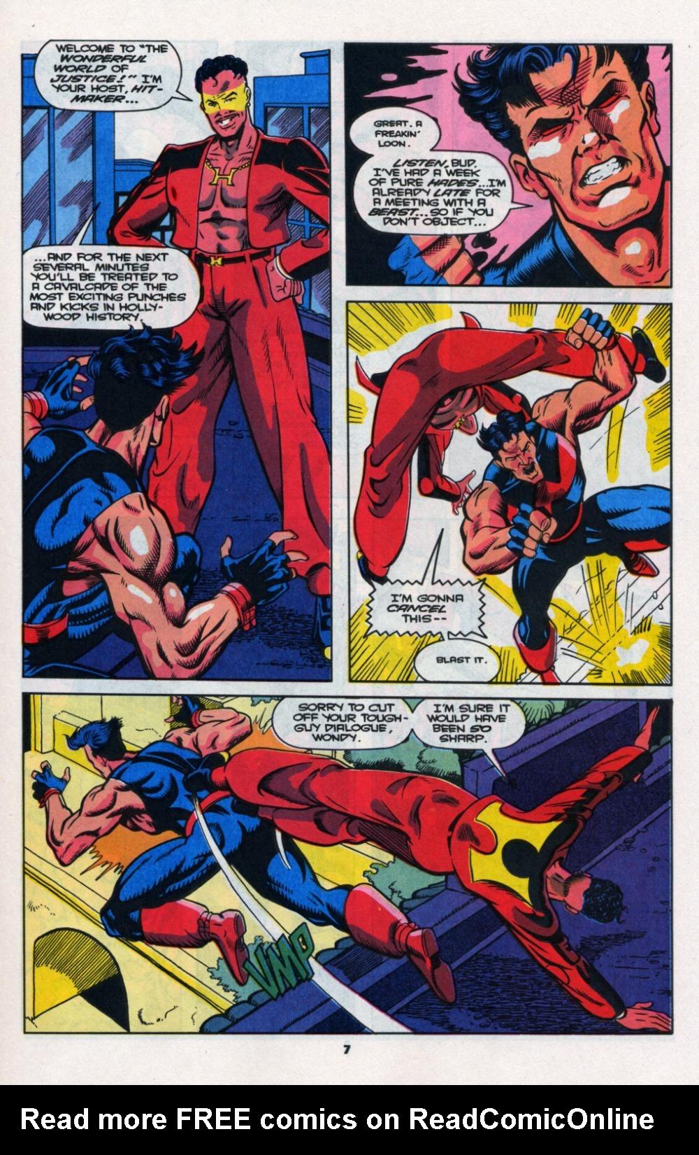 Read online Wonder Man (1991) comic -  Issue # _Annual 2 - 8