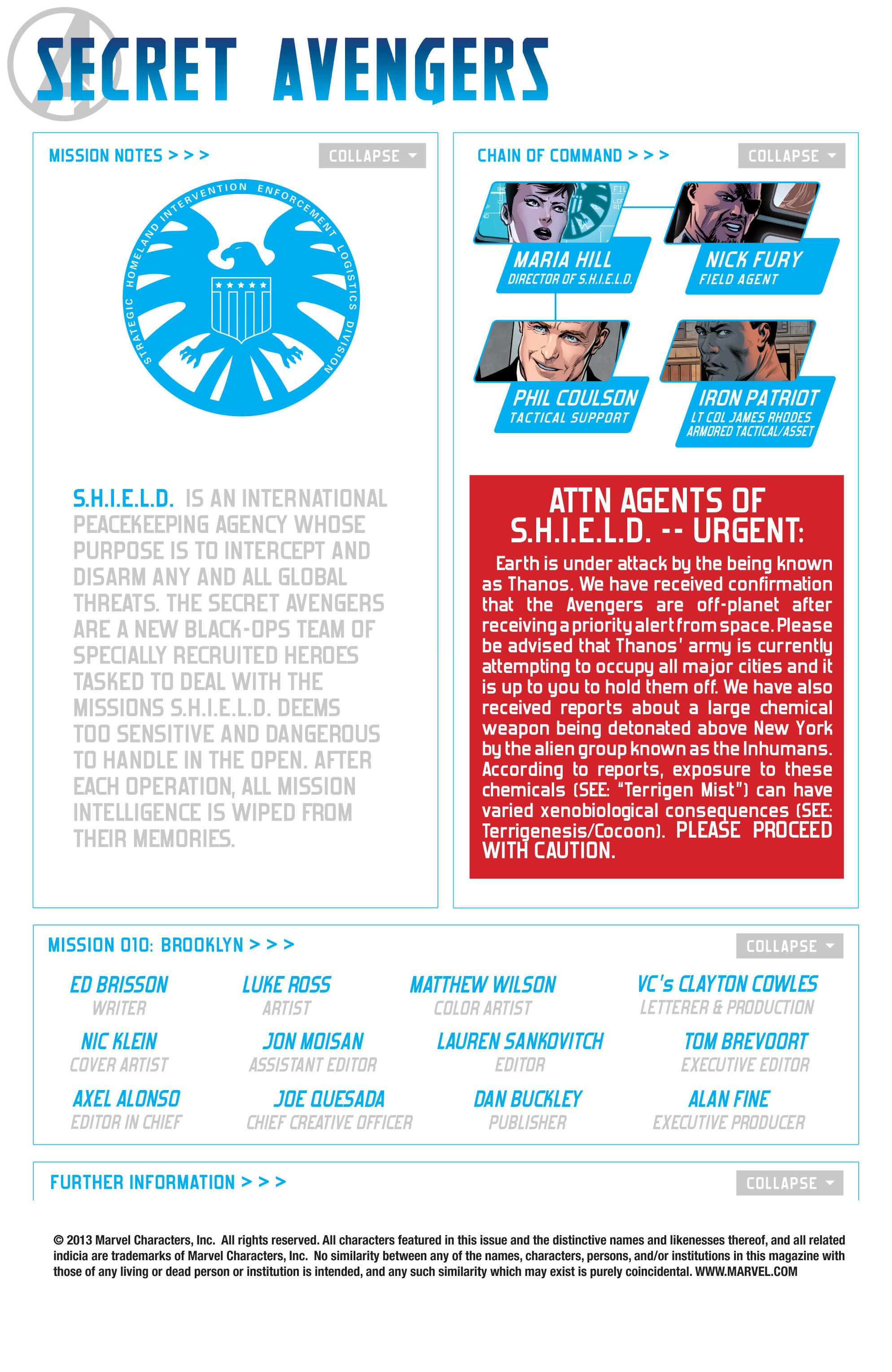 Read online Secret Avengers (2013) comic -  Issue #10 - 2