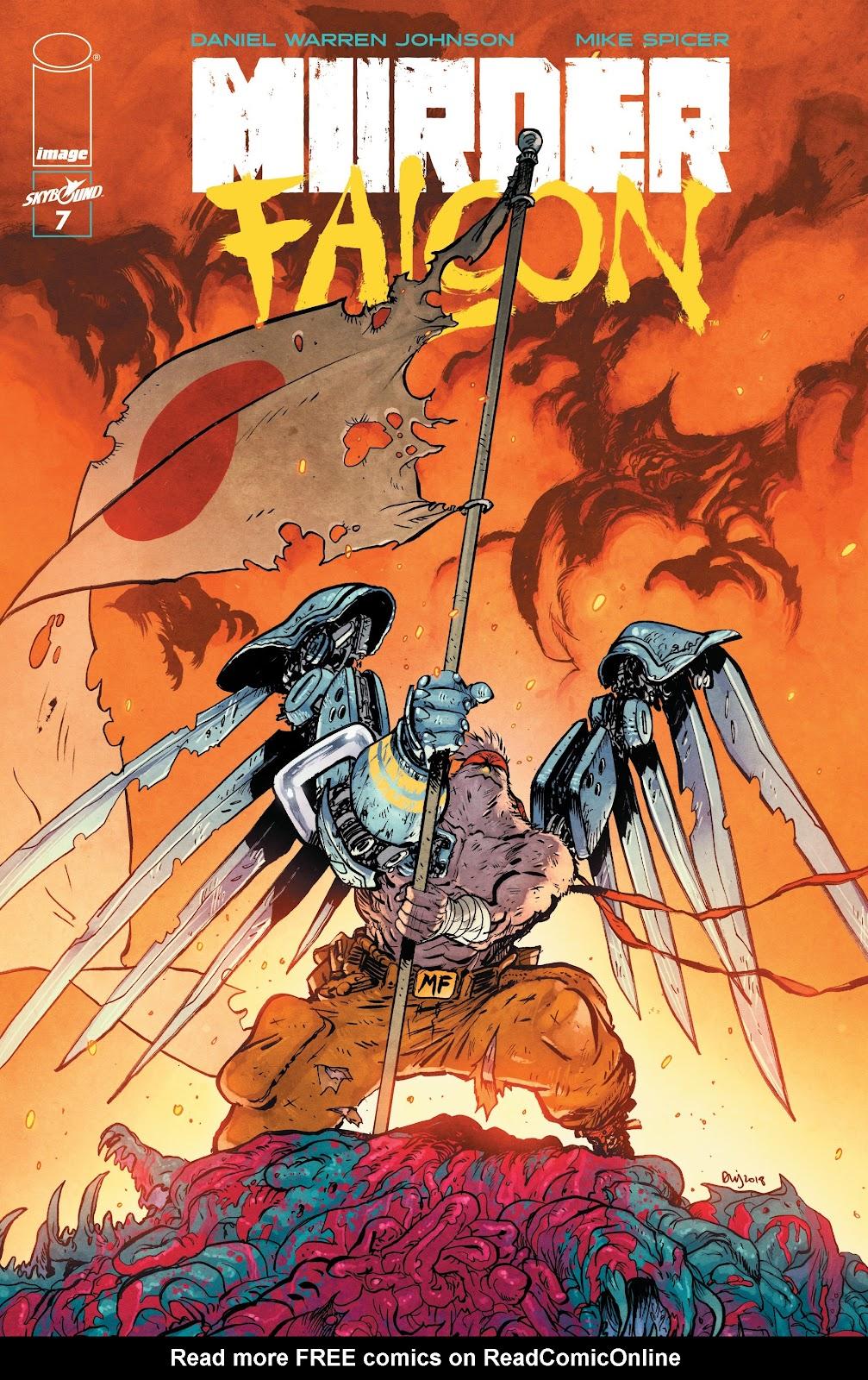 Read online Murder Falcon comic -  Issue #7 - 1