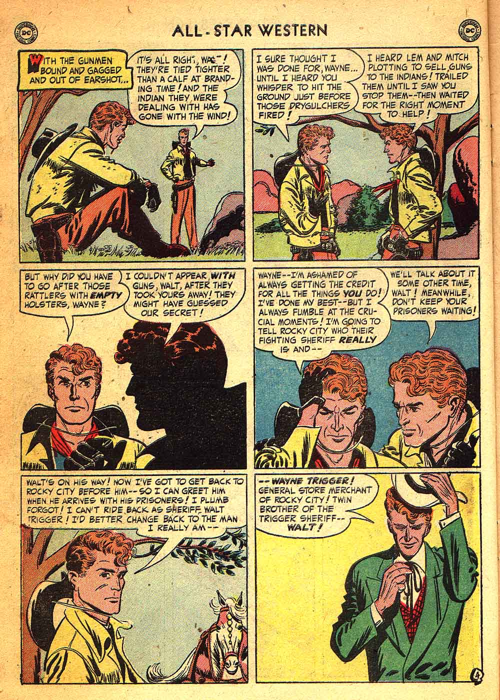 Read online All-Star Western (1951) comic -  Issue #58 - 6