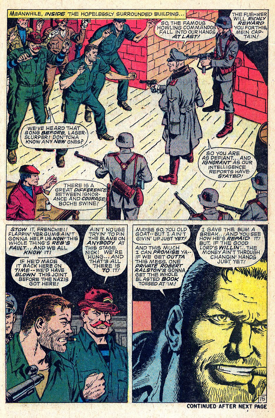 Read online Sgt. Fury comic -  Issue #56 - 21
