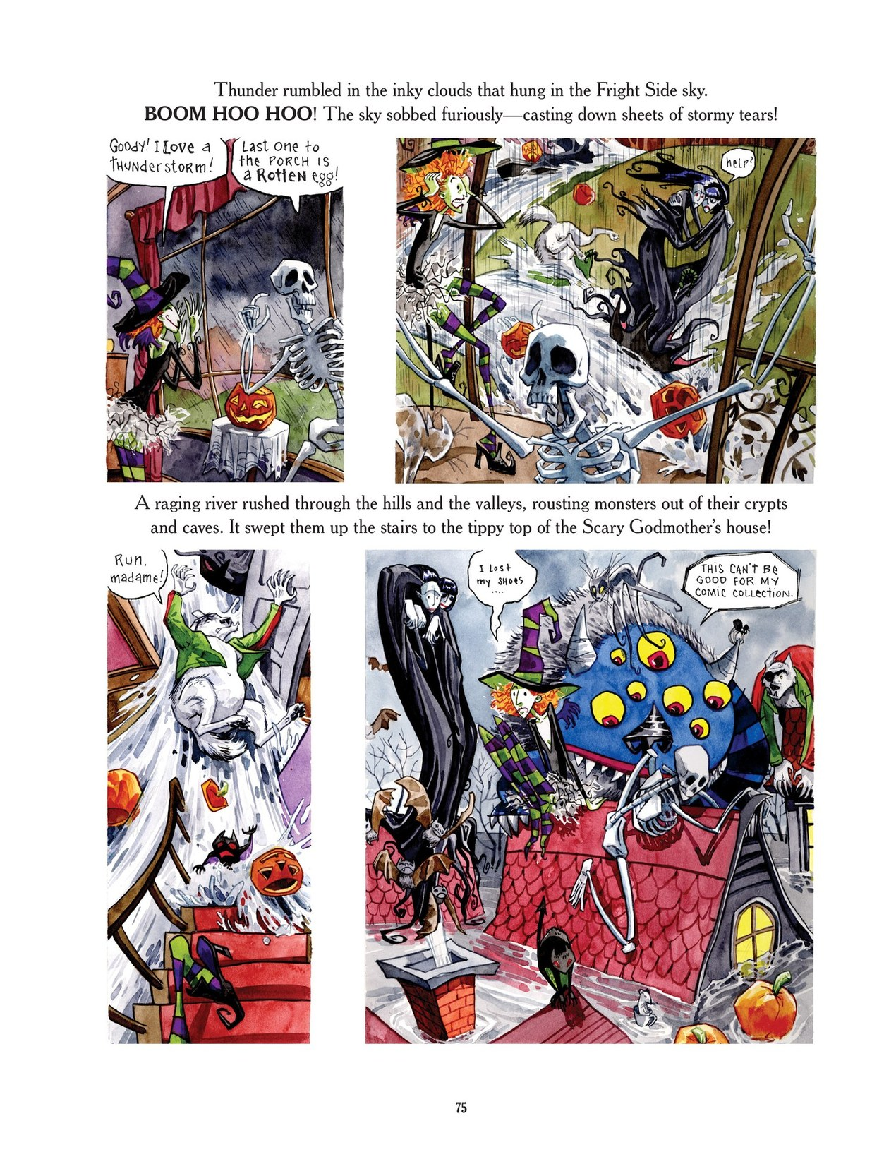 Read online Scary Godmother comic -  Issue # TPB - 75