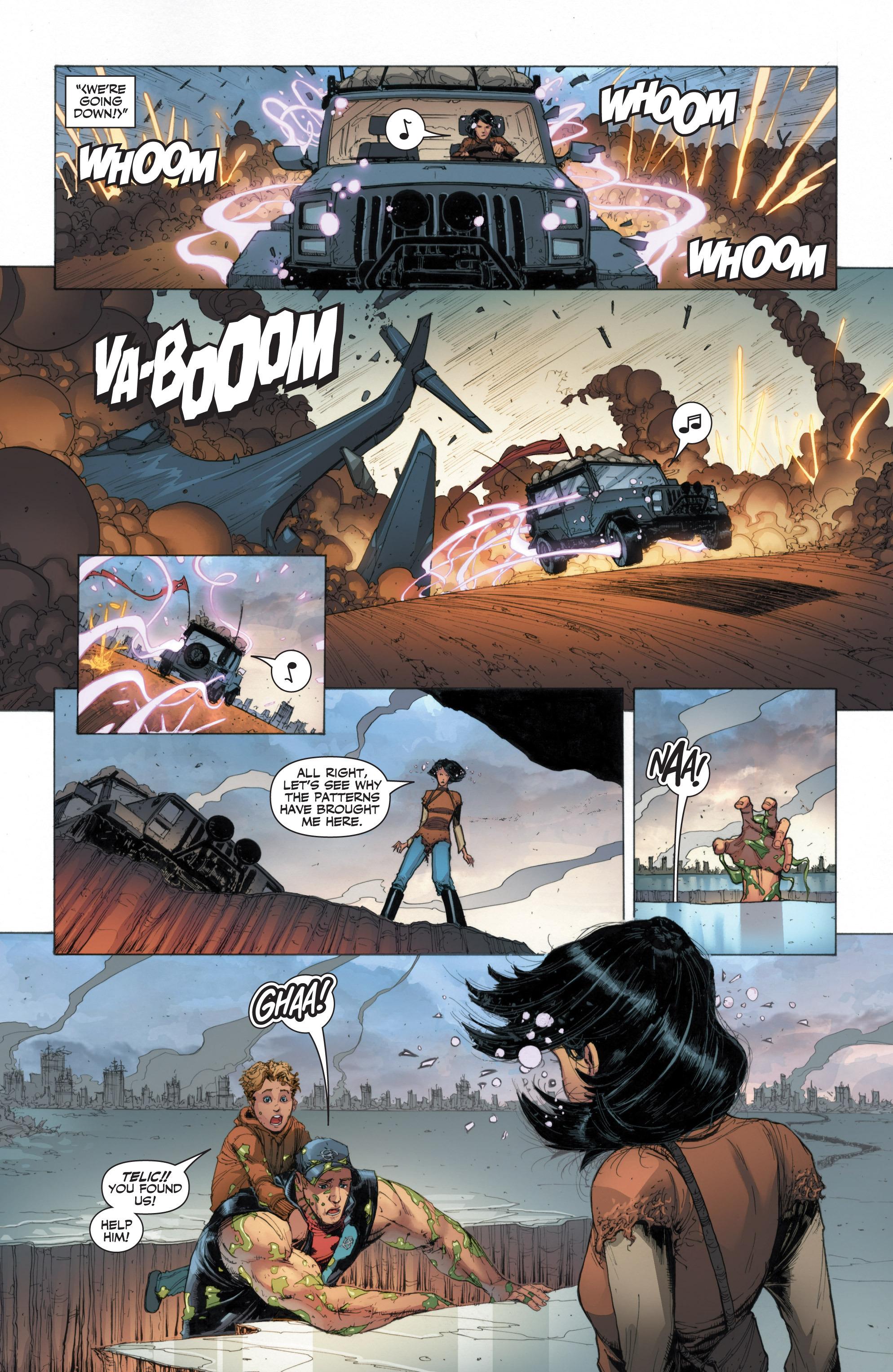 Read online Armor Hunters: Harbinger comic -  Issue # TPB - 63