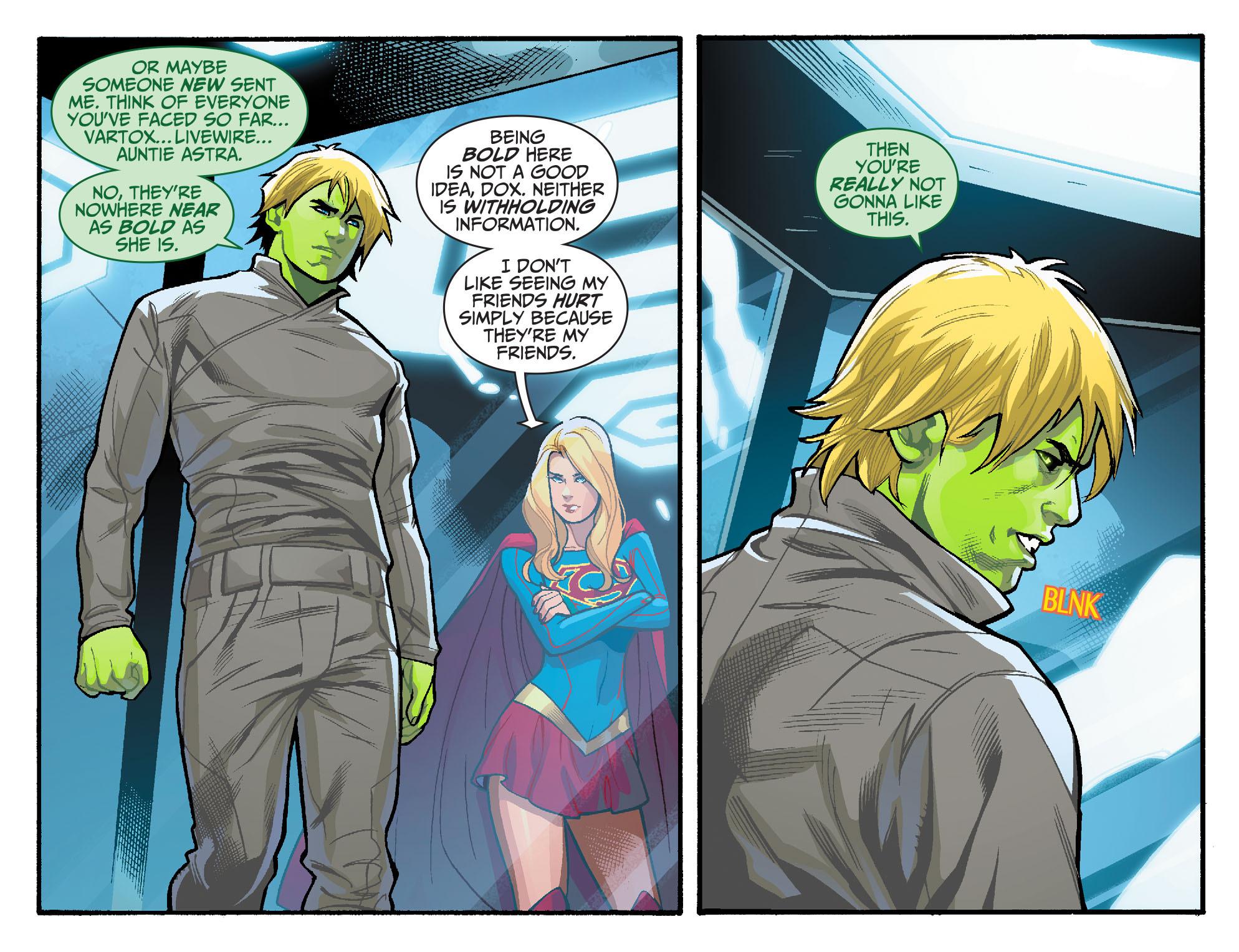Read online Adventures of Supergirl comic -  Issue #6 - 8