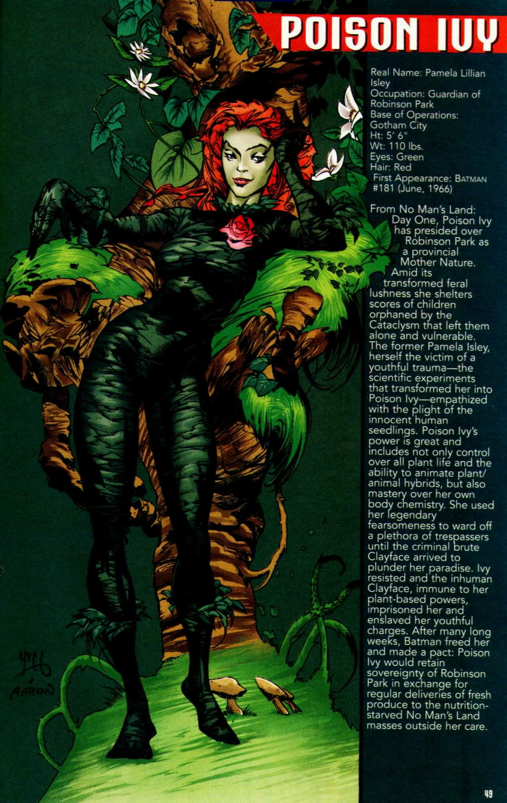 Read online Batman: No Man's Land Secret Files comic -  Issue # Full - 45