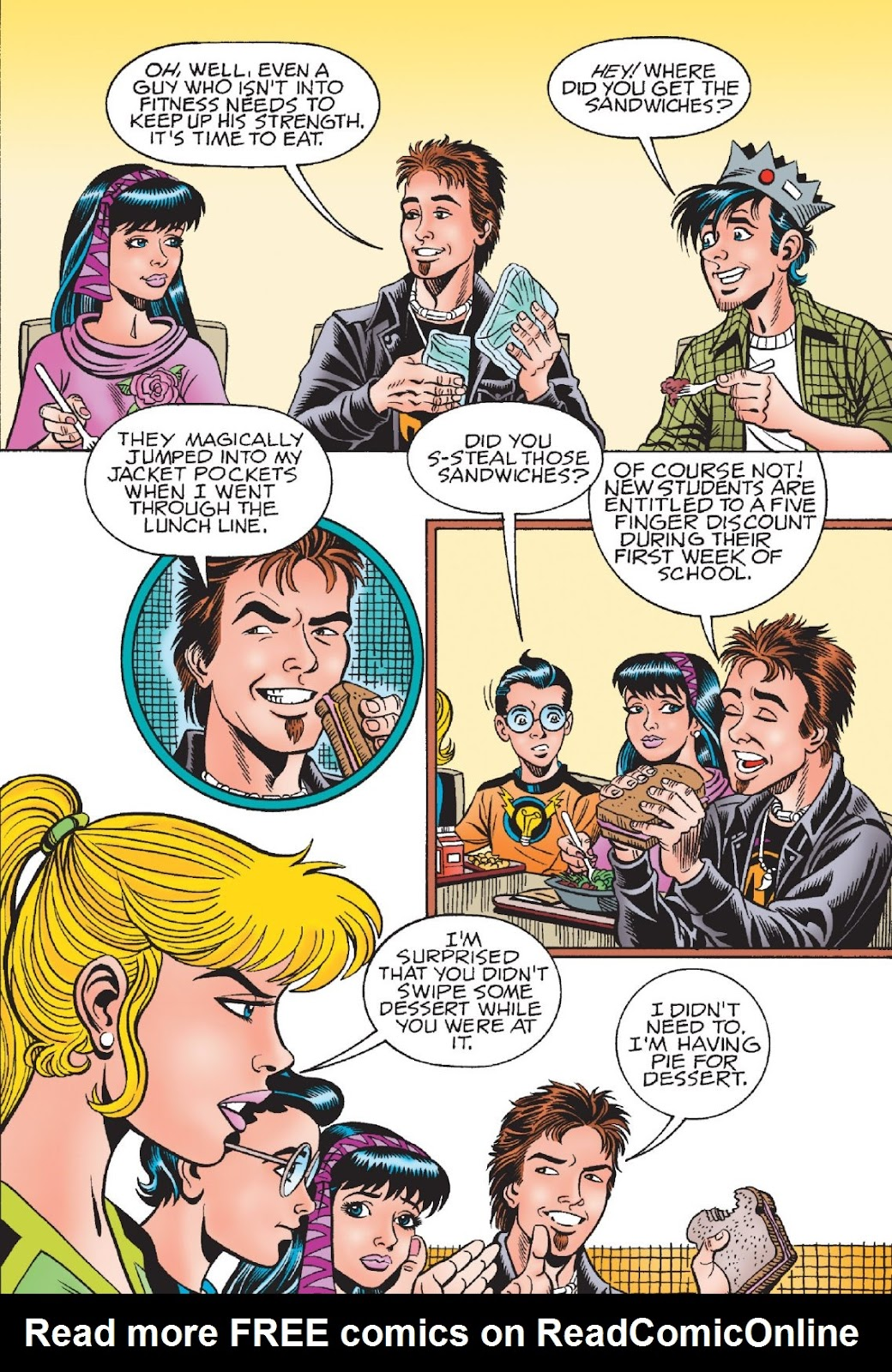 Read online Archie's New Look Series comic -  Issue #1 - 42