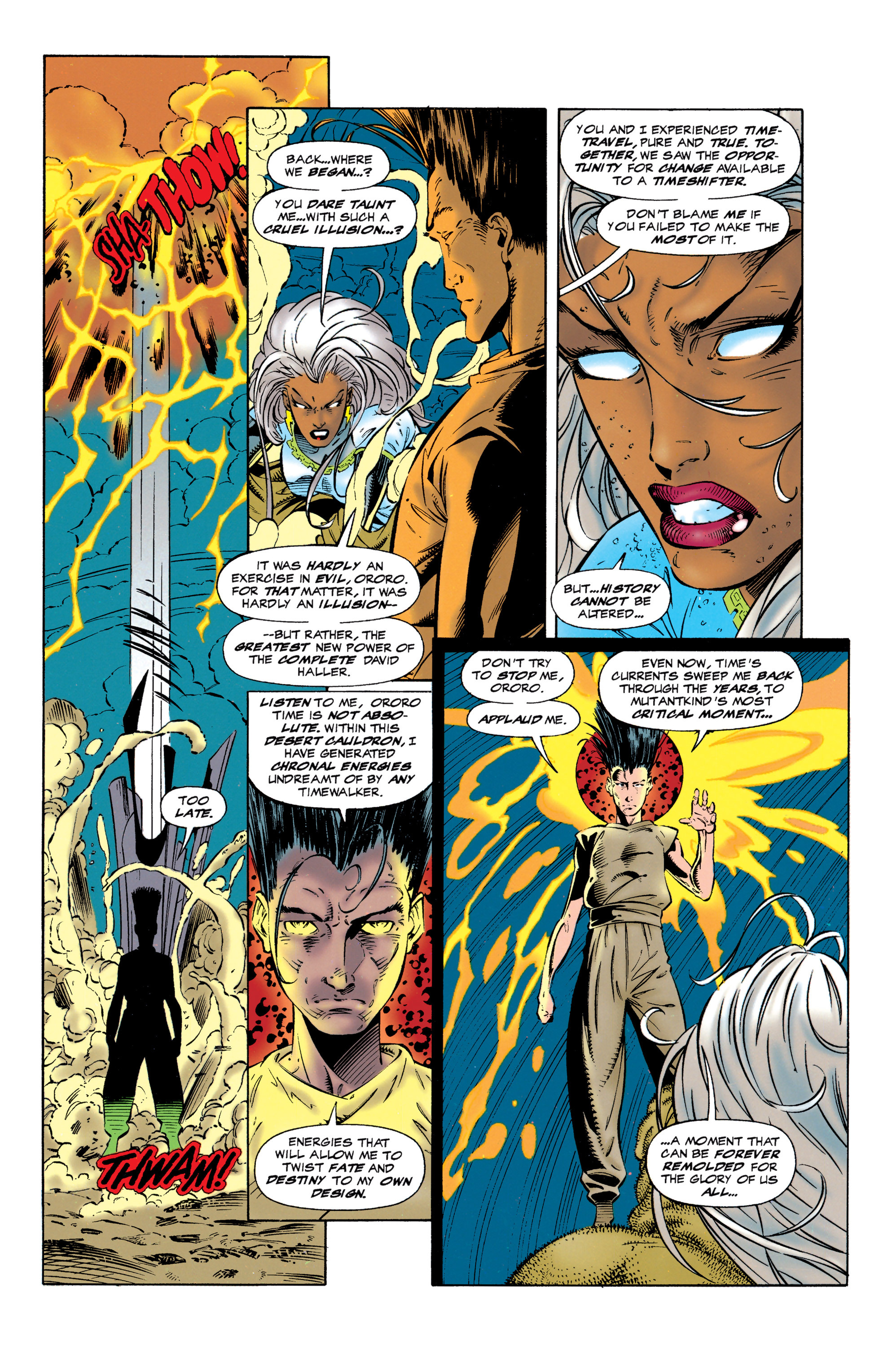 Read online Uncanny X-Men (1963) comic -  Issue #320 - 13