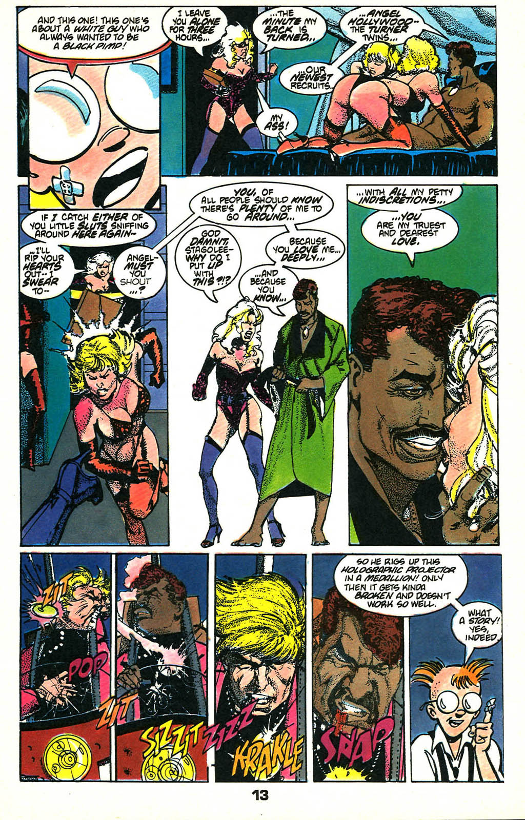 Read online American Flagg! comic -  Issue #46 - 17