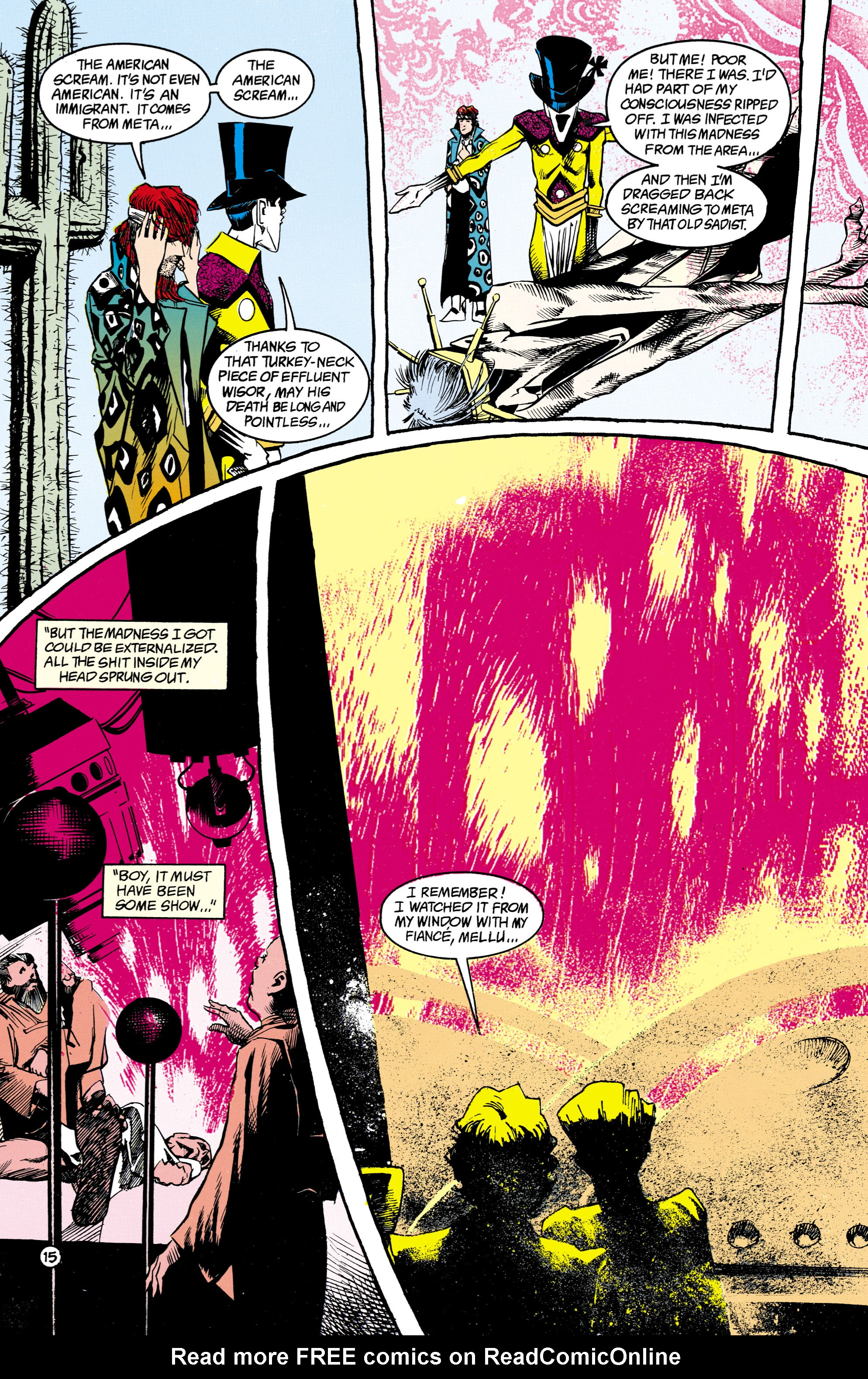 Read online Shade, the Changing Man comic -  Issue #16 - 15