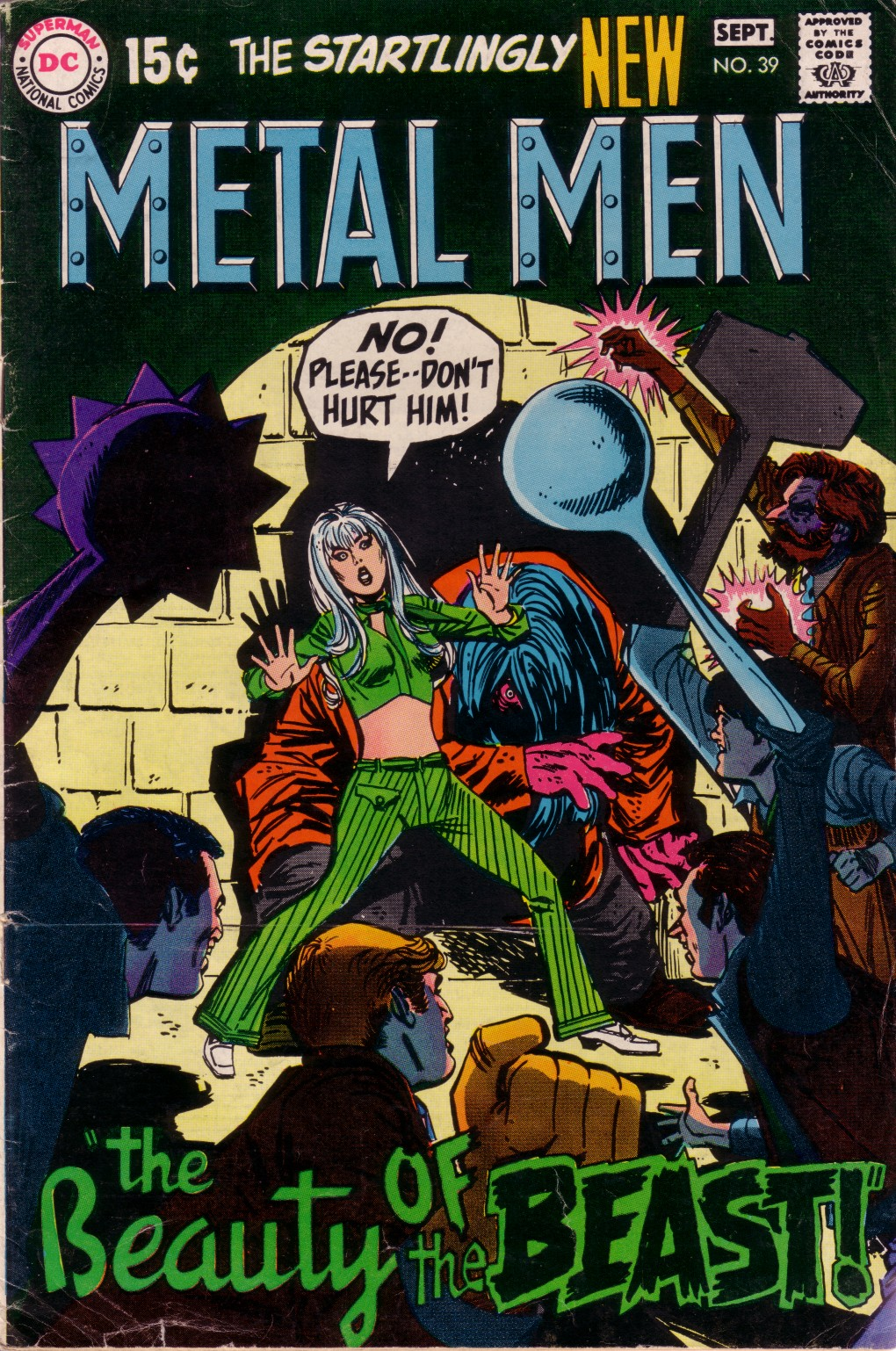 Metal Men (1963) issue 39 - Page 1
