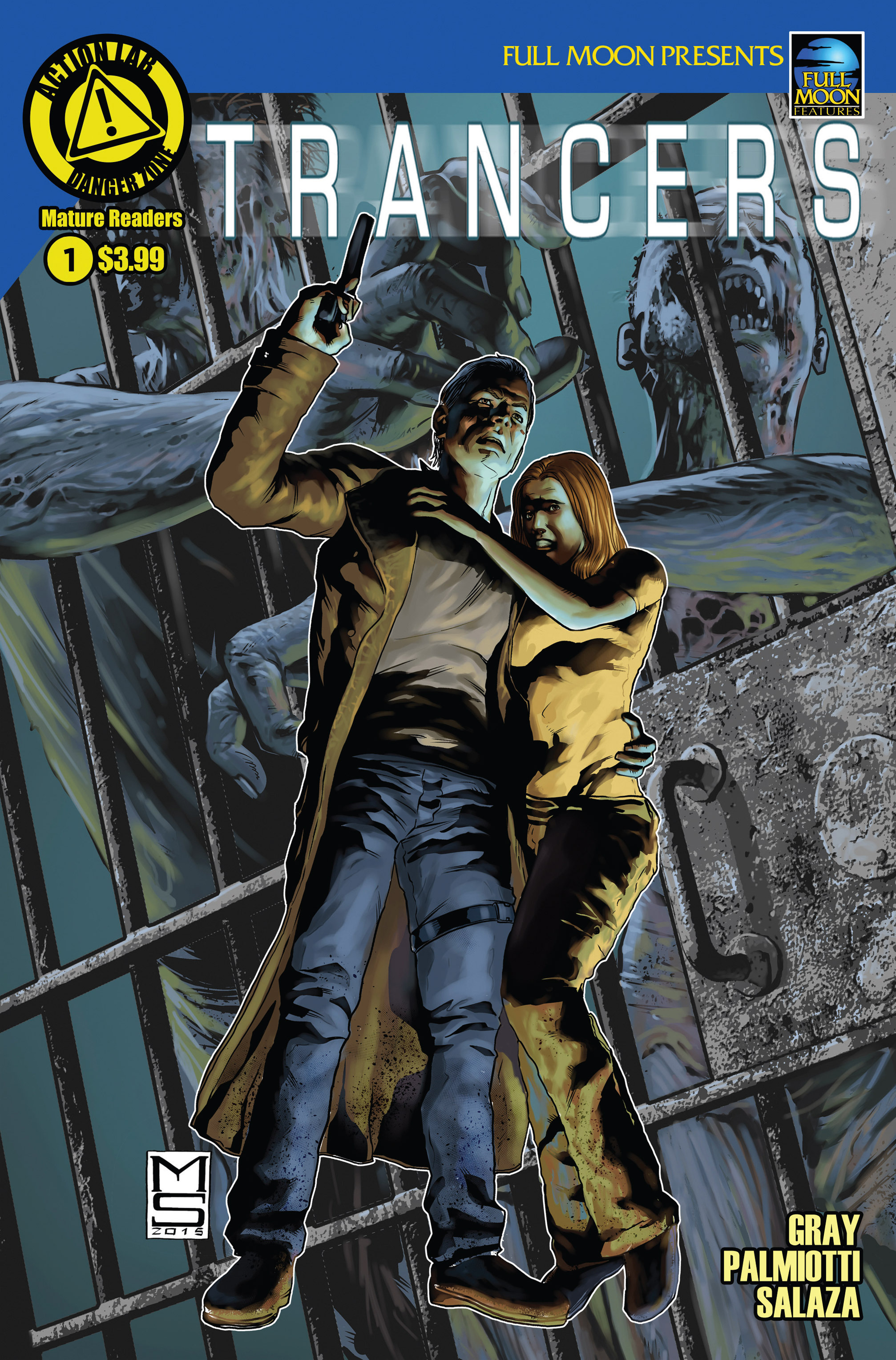 Read online Trancers comic -  Issue #1 - 1