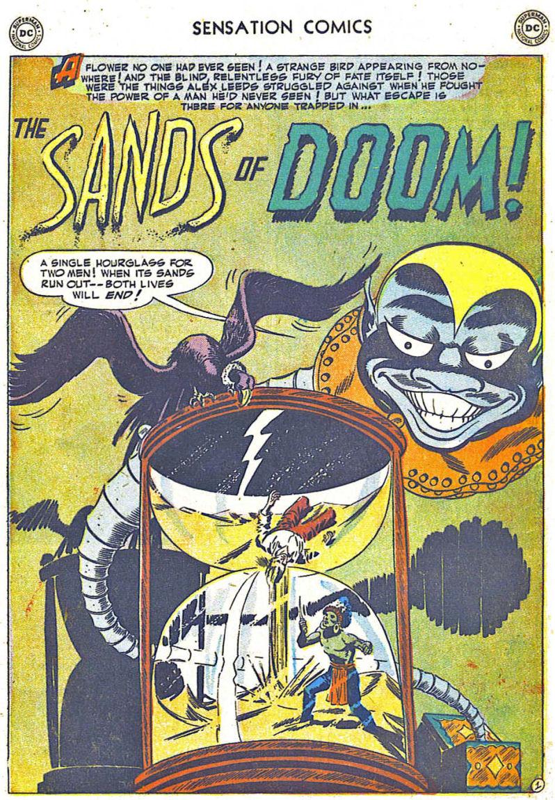 Read online Sensation (Mystery) Comics comic -  Issue #108 - 25