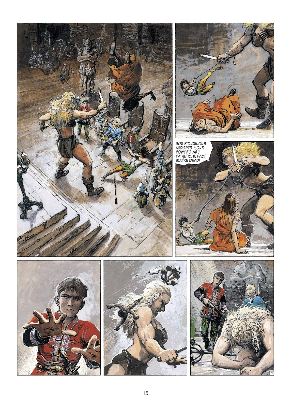 Read online Thorgal comic -  Issue #23 - 17