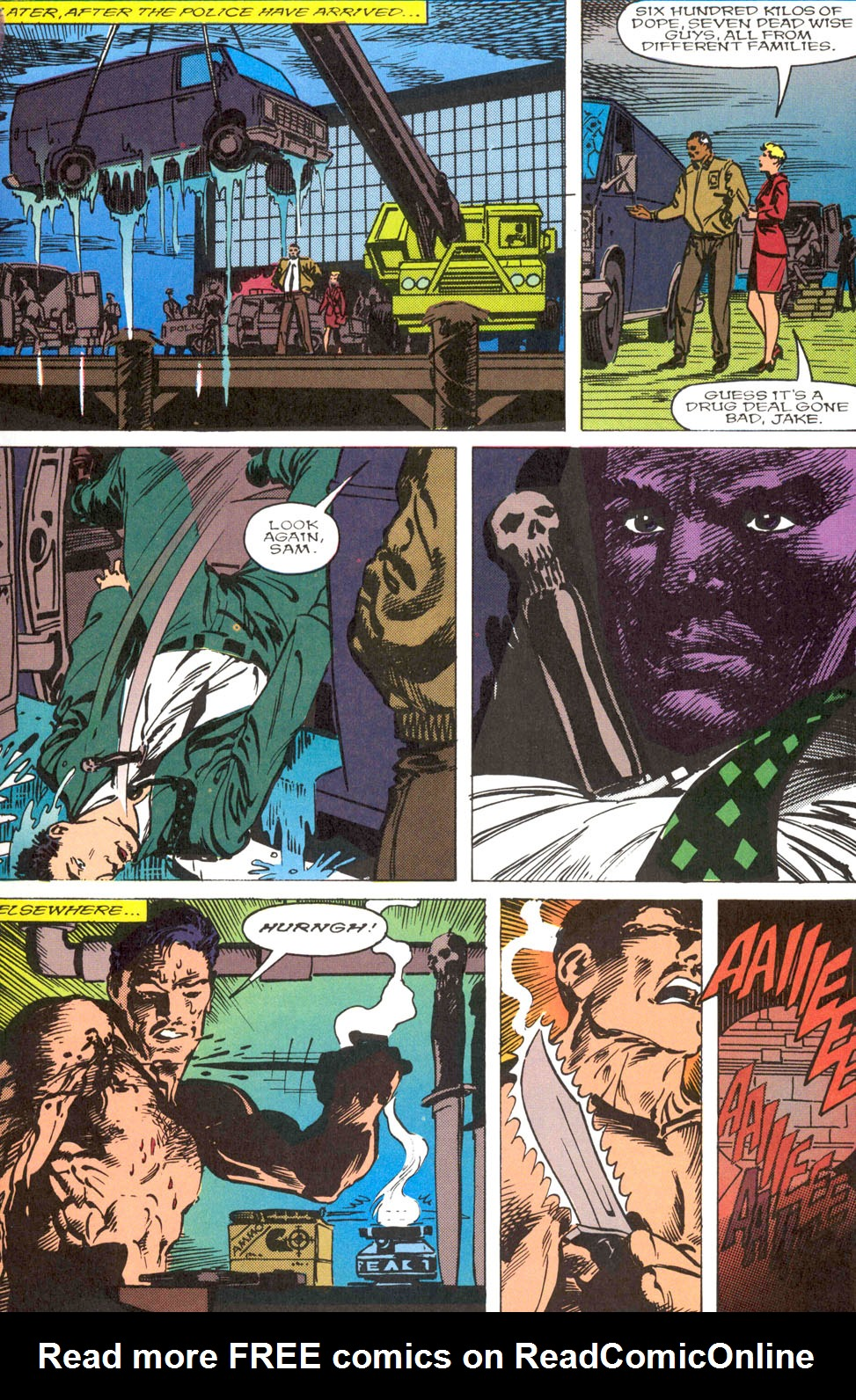 The Punisher Movie Special issue Full - Page 33