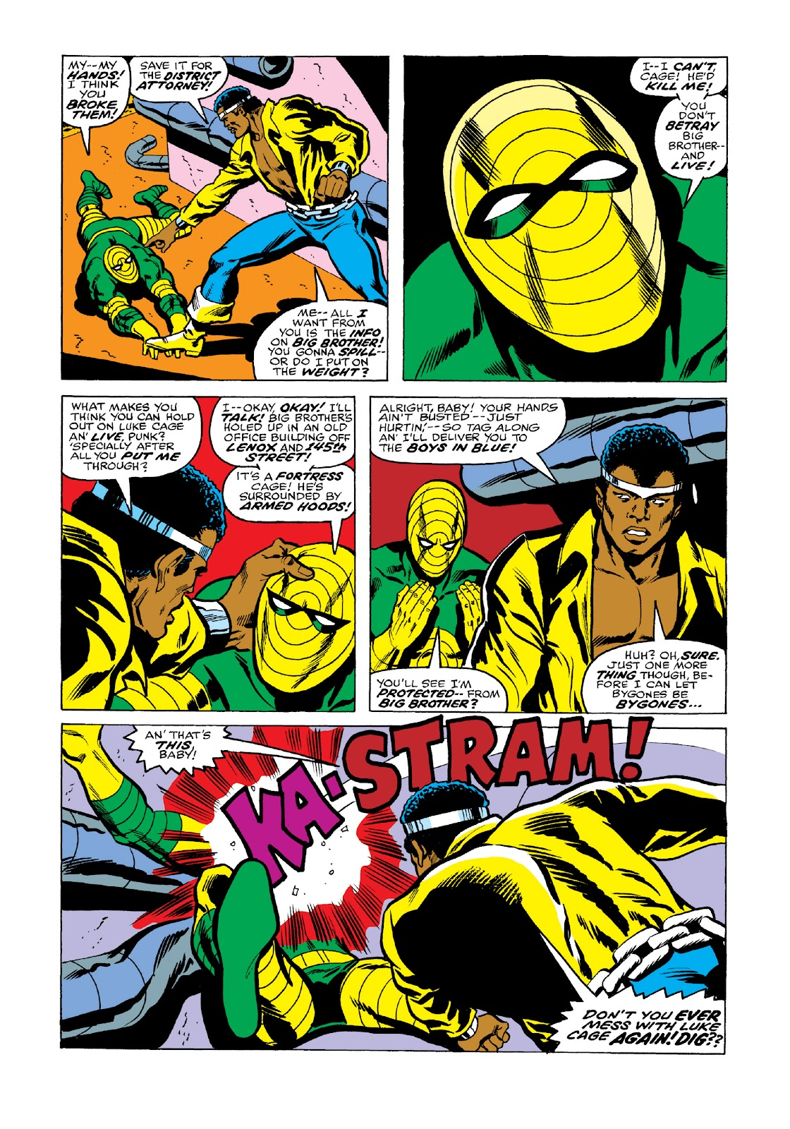 Read online Marvel Masterworks: Luke Cage, Power Man comic -  Issue # TPB 3 (Part 2) - 49