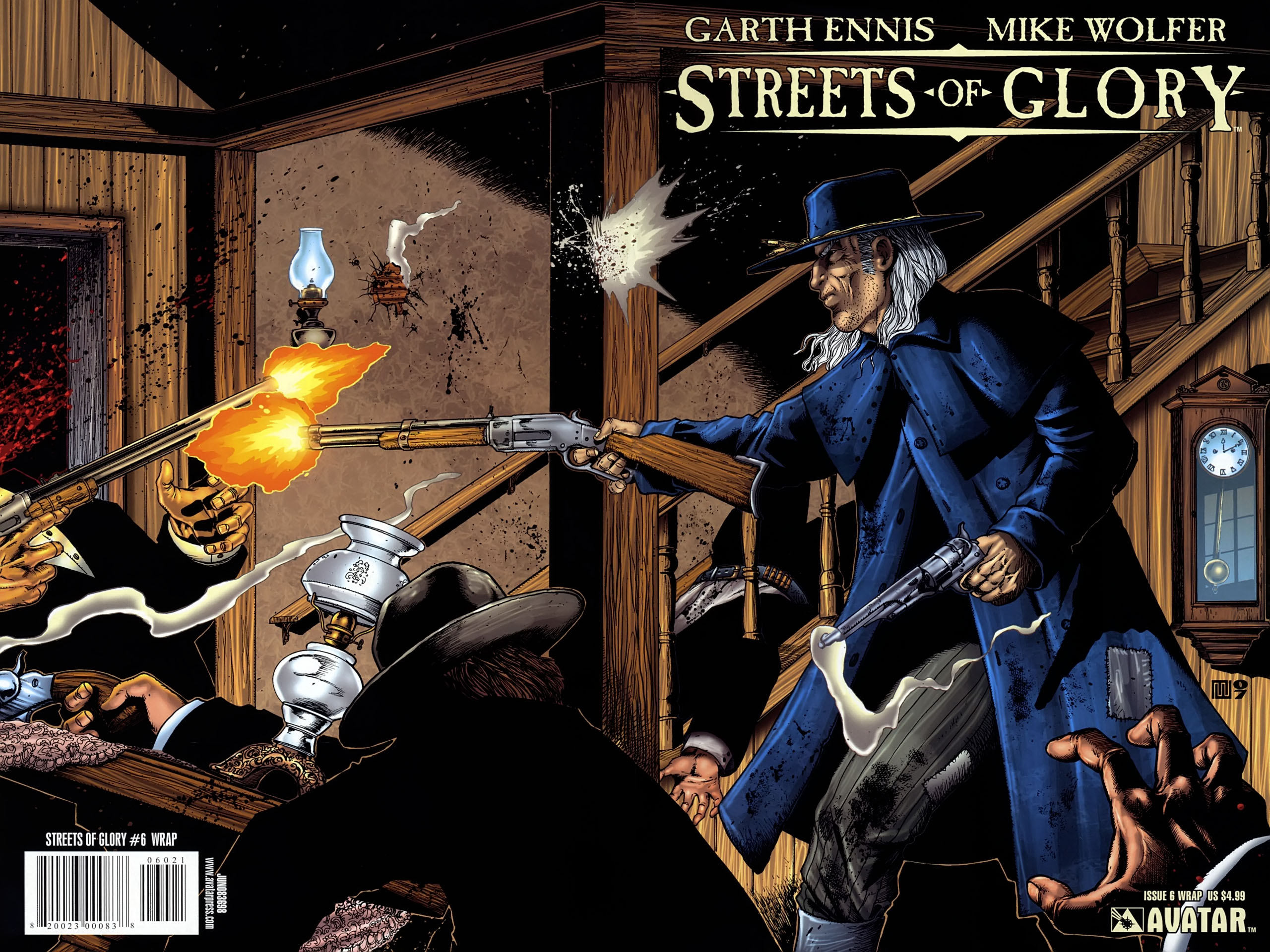 Read online Garth Ennis' Streets of Glory comic -  Issue #6 - 1