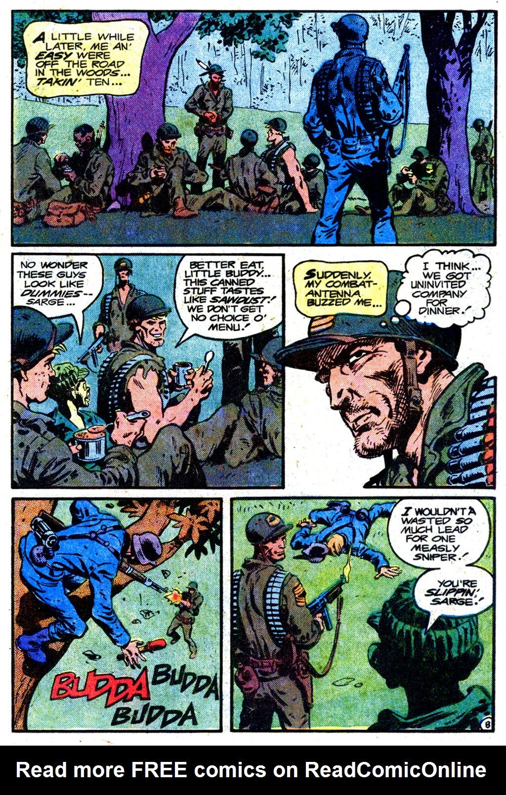 Read online Sgt. Rock comic -  Issue #349 - 8