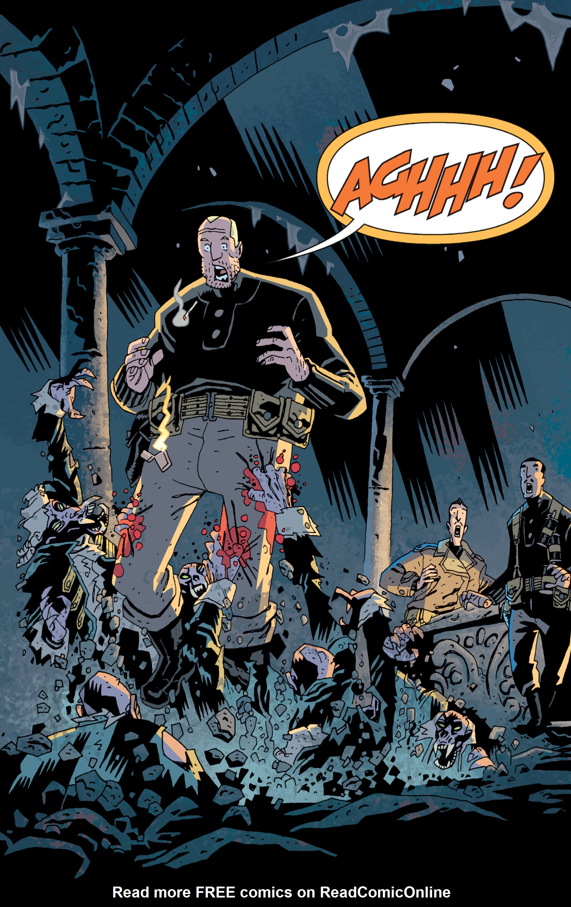 Read online B.P.R.D. (2003) comic -  Issue # TPB 13 - 63