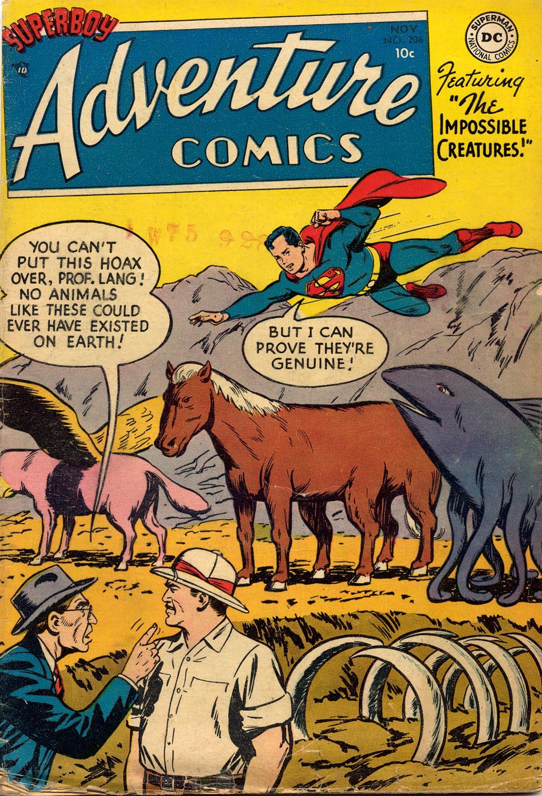Read online Adventure Comics (1938) comic -  Issue #206 - 1