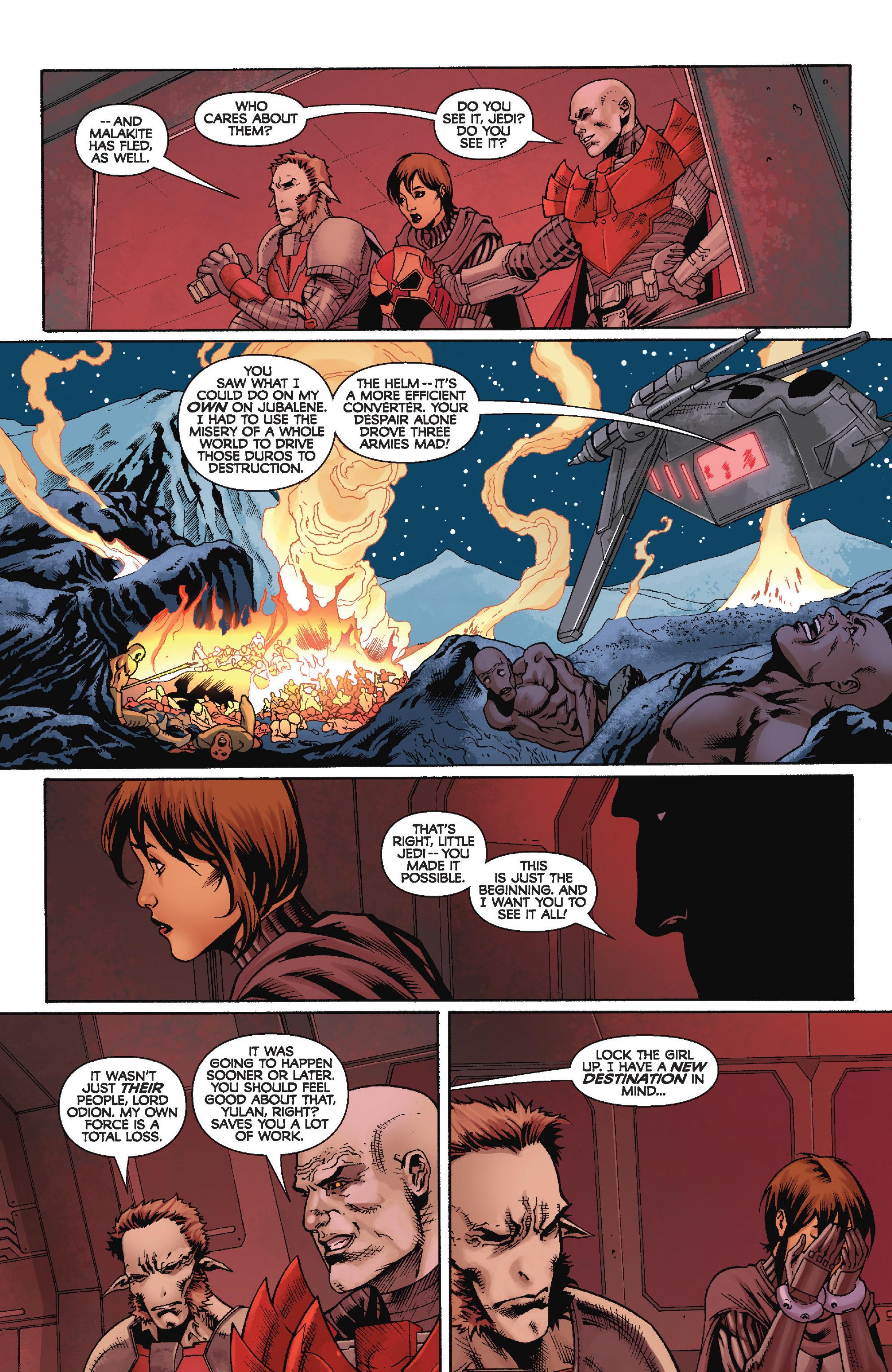 Read online Star Wars: Knight Errant - Escape comic -  Issue #4 - 16
