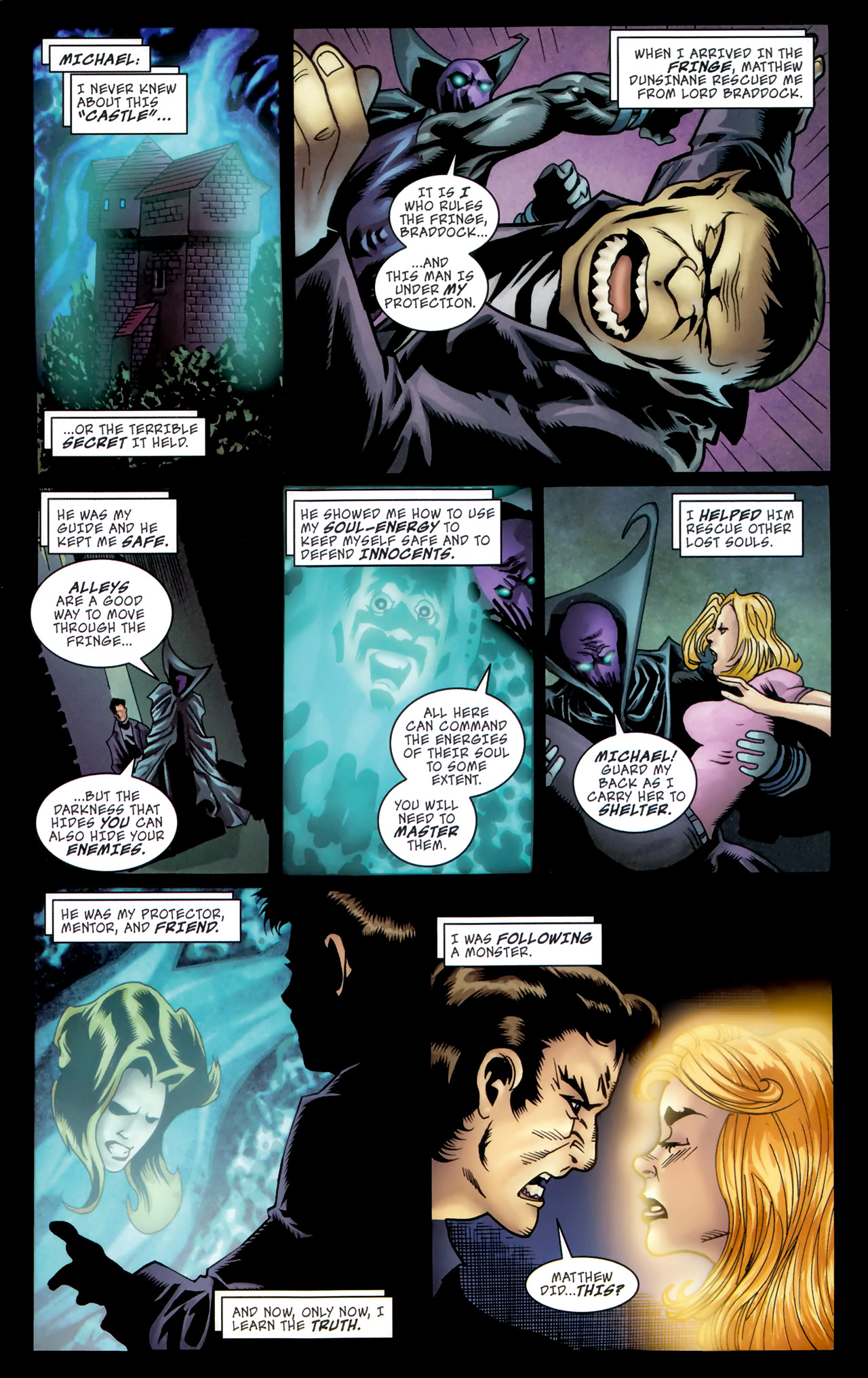 Read online The Grim Ghost comic -  Issue #5 - 7