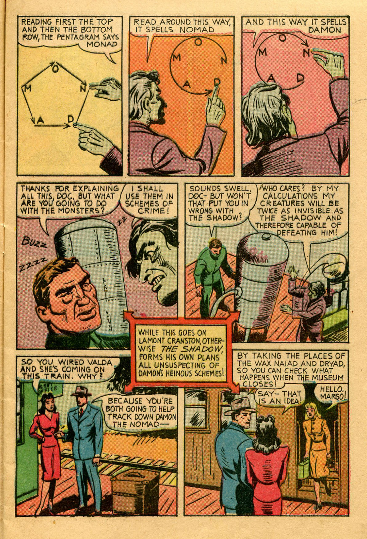 Read online Shadow Comics comic -  Issue #53 - 12